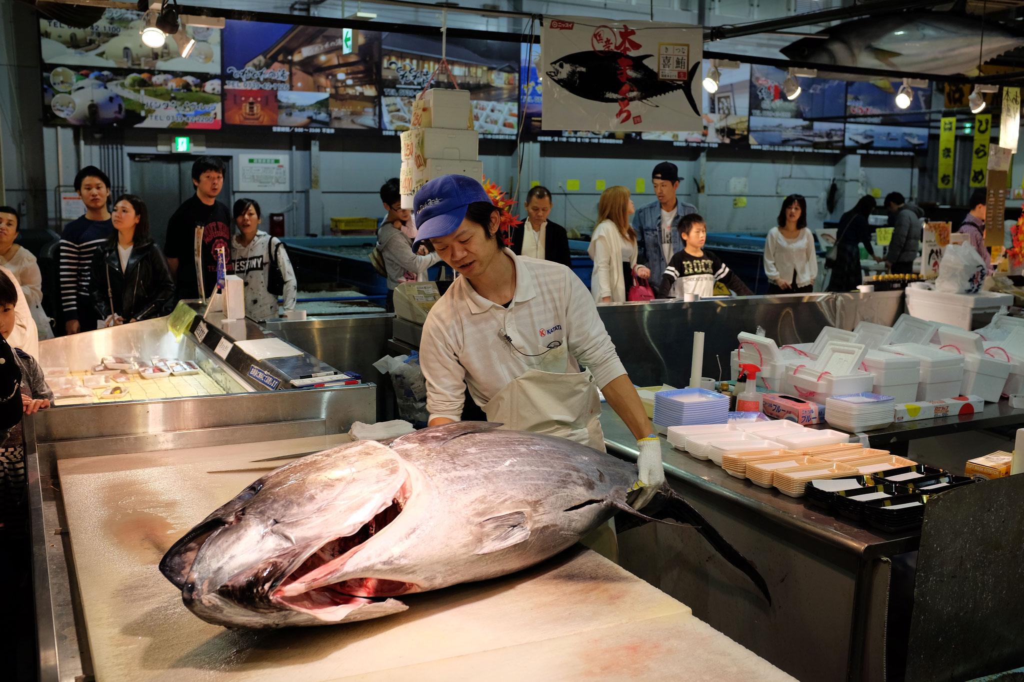 Tore-tore Seafood Market Shirahama