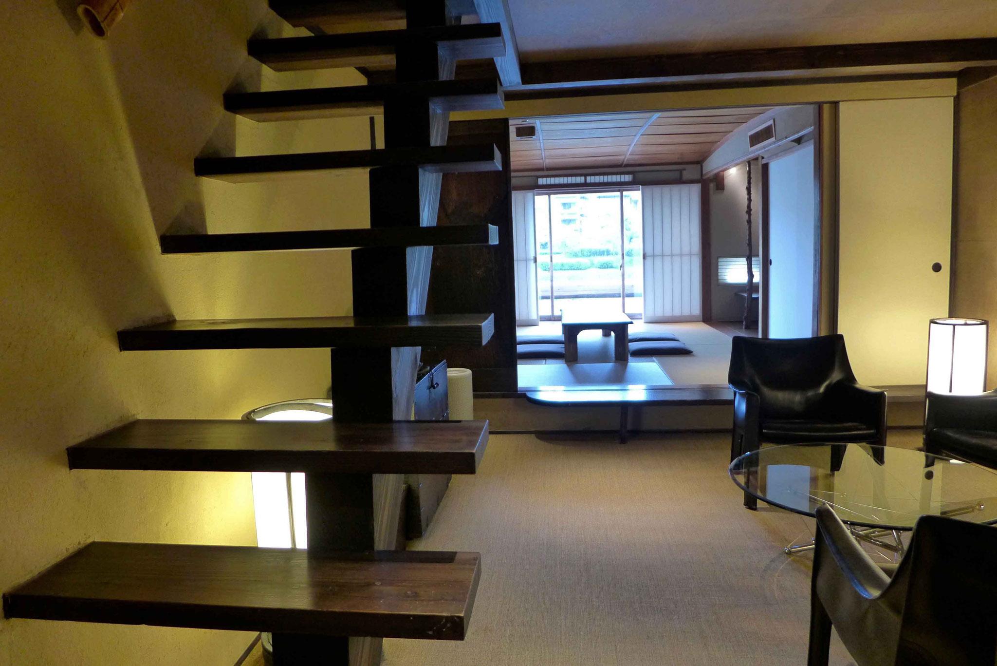 Zweistöckiges Kyoto Machiya Haus (Vermietung Iori Machiya)