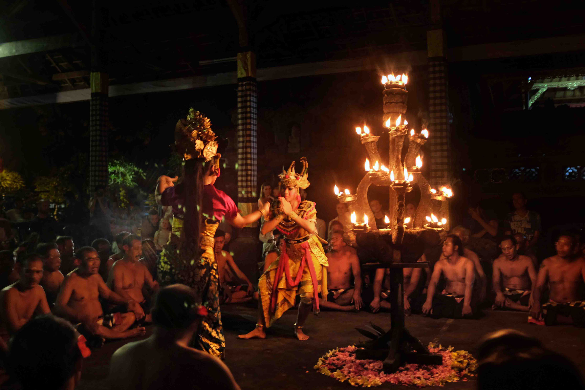 Beeindruckender Kecak Feuertanz in Ubud