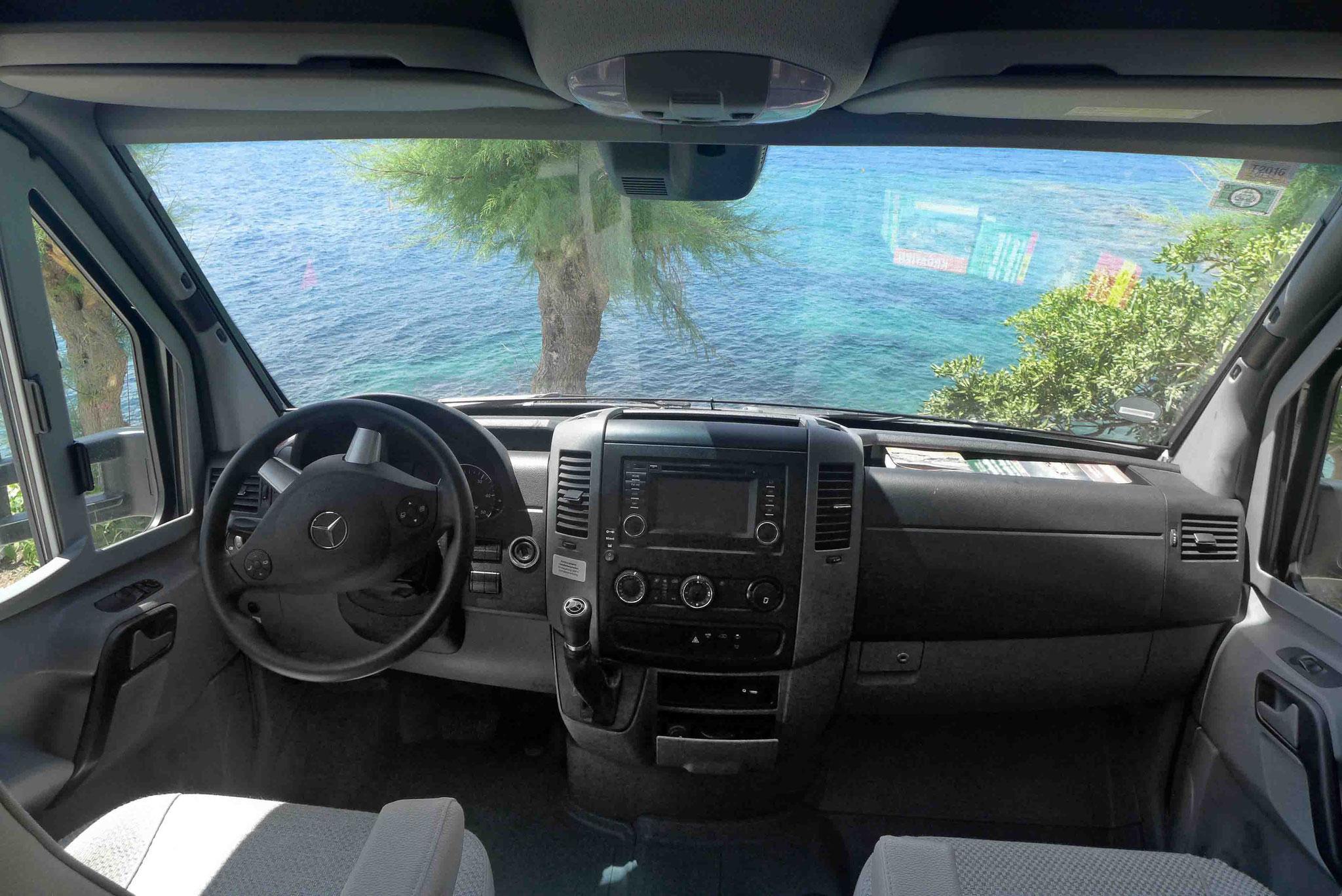Fahrerkabine Mercedes-Benz HYMER ML-T
