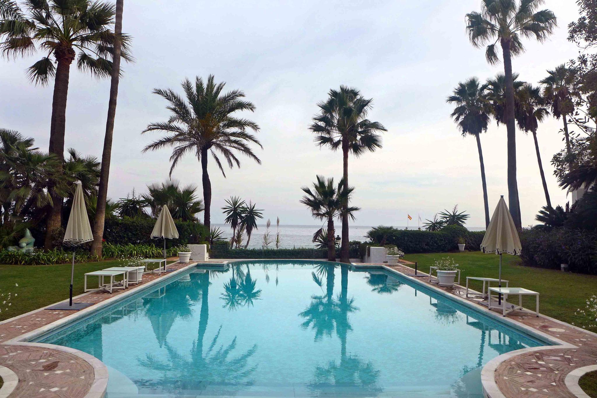 Poollandschaft Villa del Mar