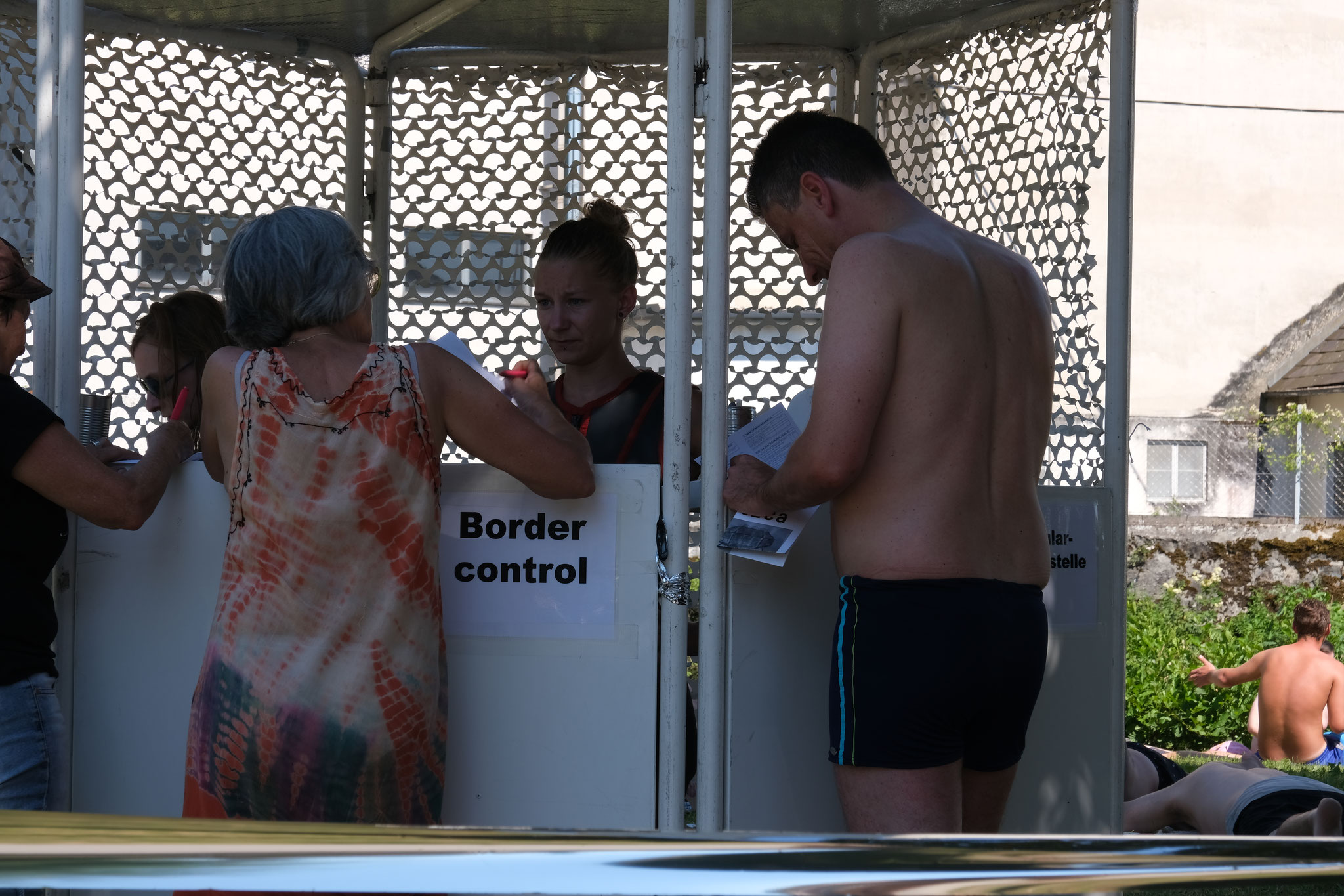 Border Control by Nino Wallisch & Anastasia Kraus