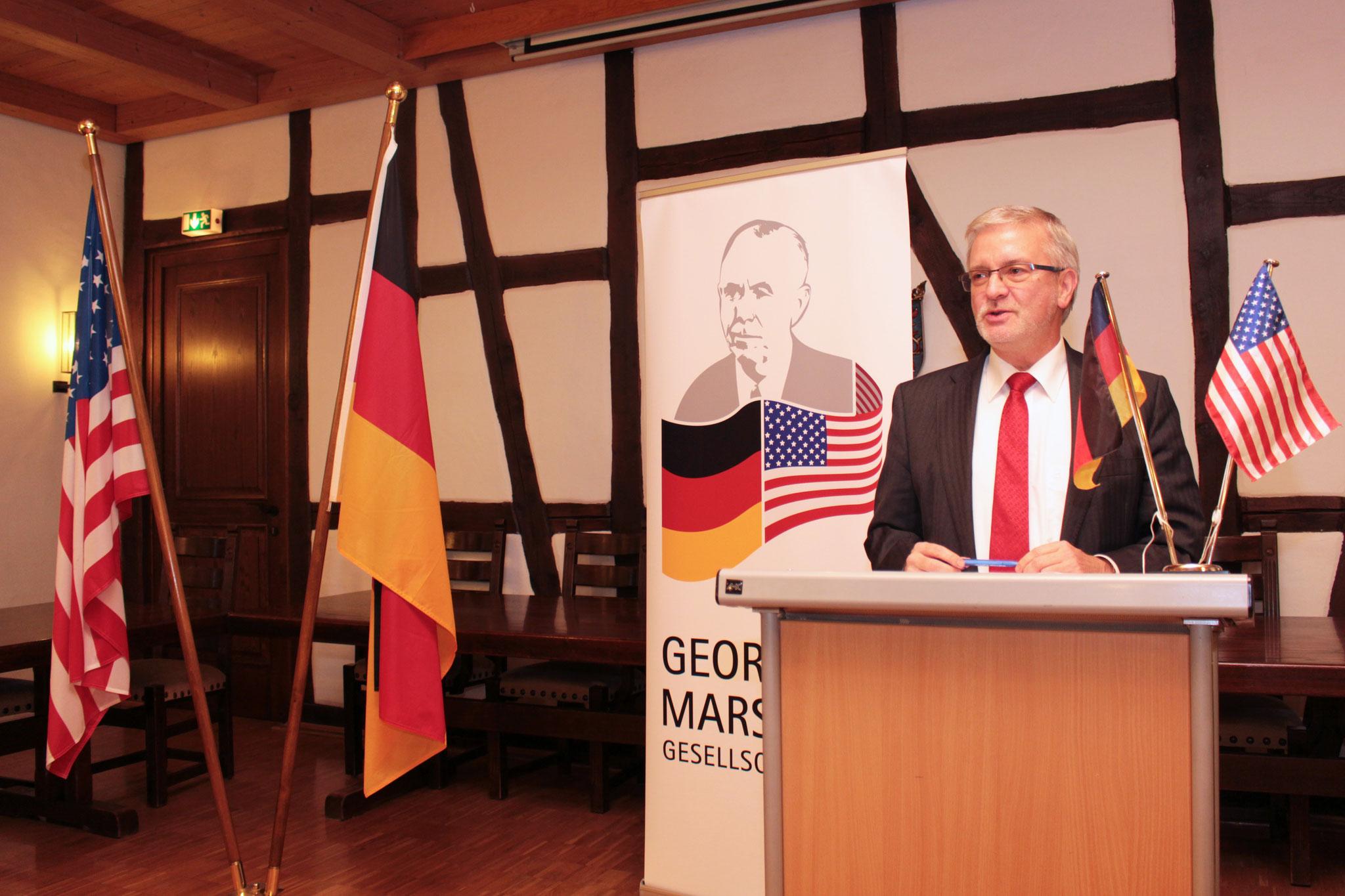MdEP Michael Gahler sprach über Afrika