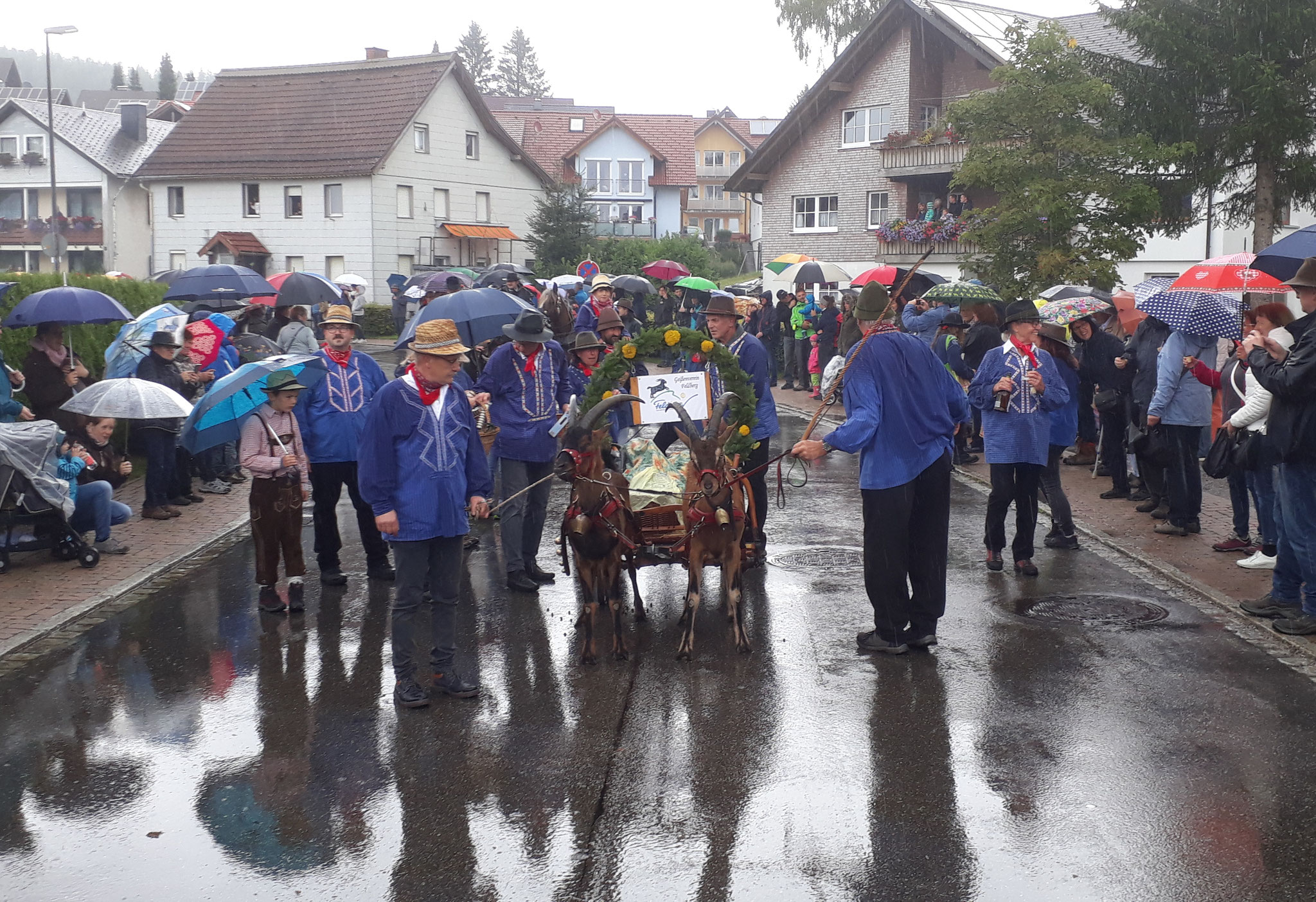 Umzug beim Roßfest in St. Märgen