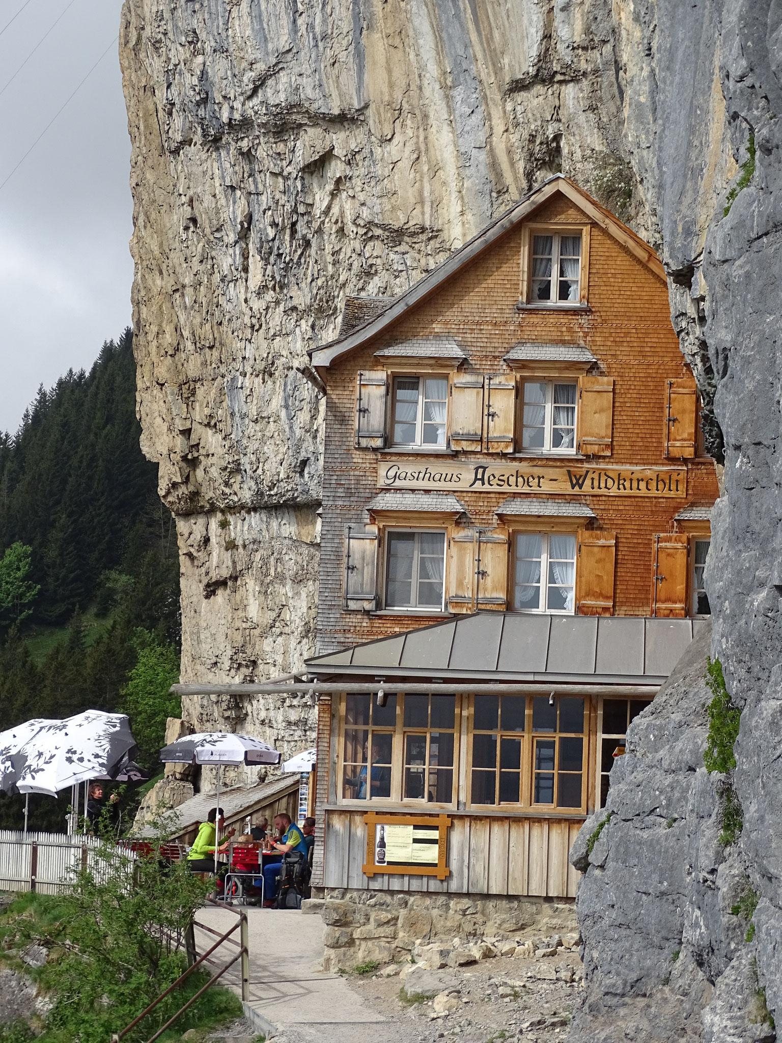 Ausflug der aktiven in die schweizer Bergwelt am Säntis