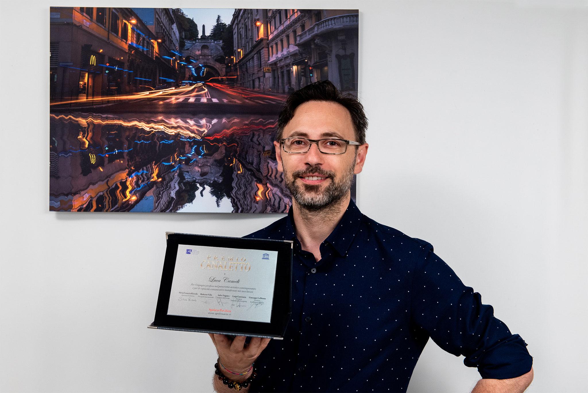 """Premiazione Premio Canaletto - Spoleto Arte - La Biennale Di Venzia D'Arte """"Riflessi Della Frenesia Quotidiana"""""""