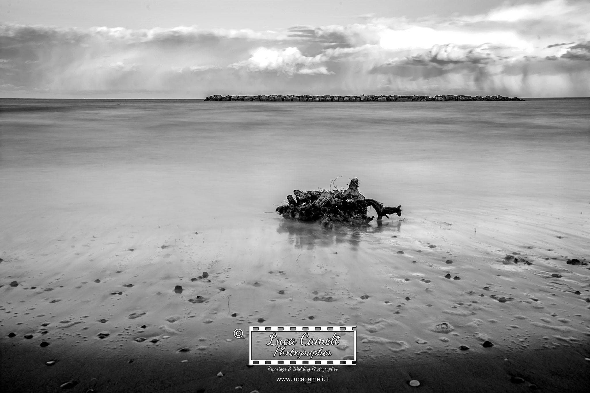 """Giornata mondiale degli oceani, 8 giugno. """"Nubi all'orizzonte"""". © Luca Cameli Photographer"""