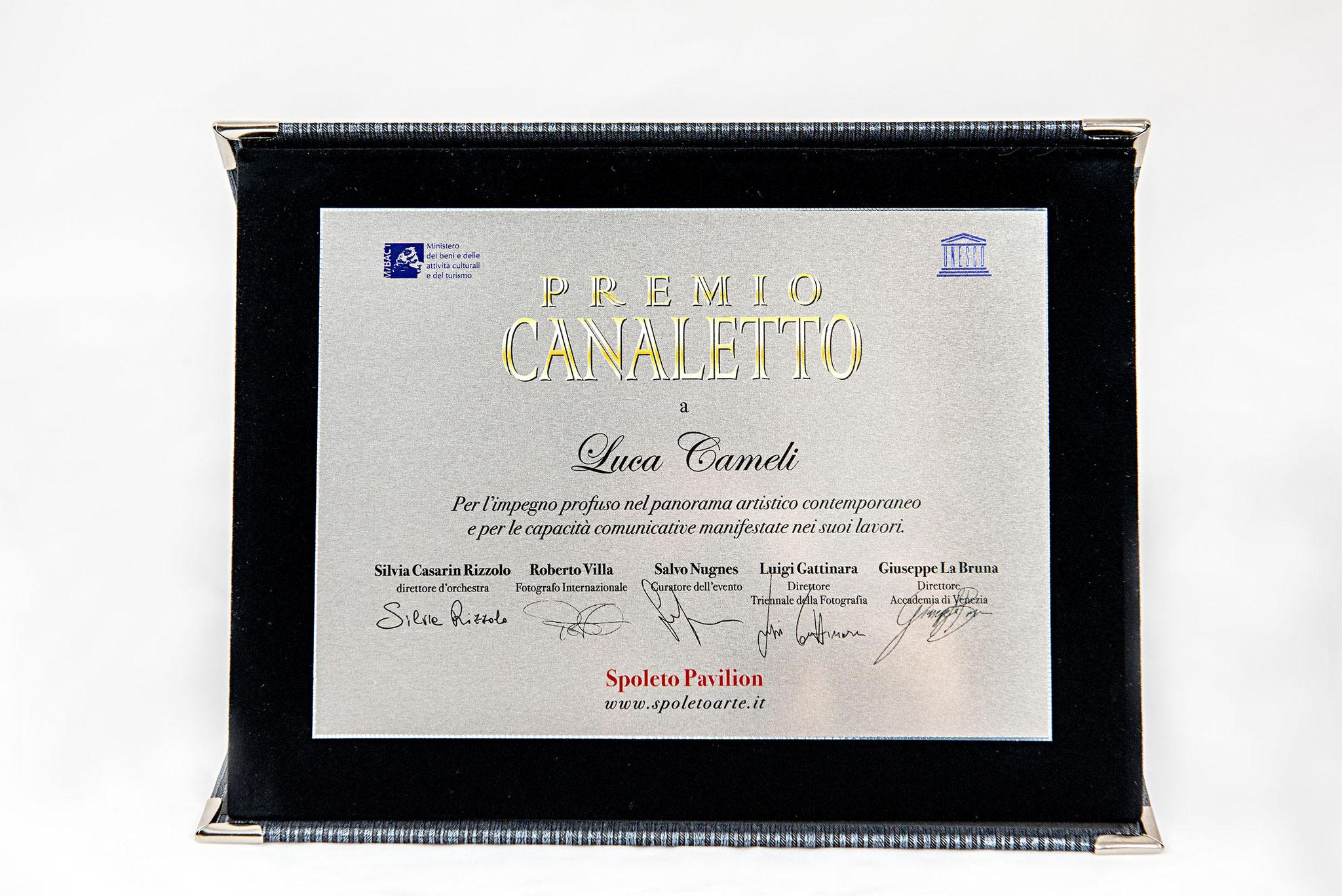 Premio Canaletto - Spoleto Arte - La Biennale Di Venezia D'Arte