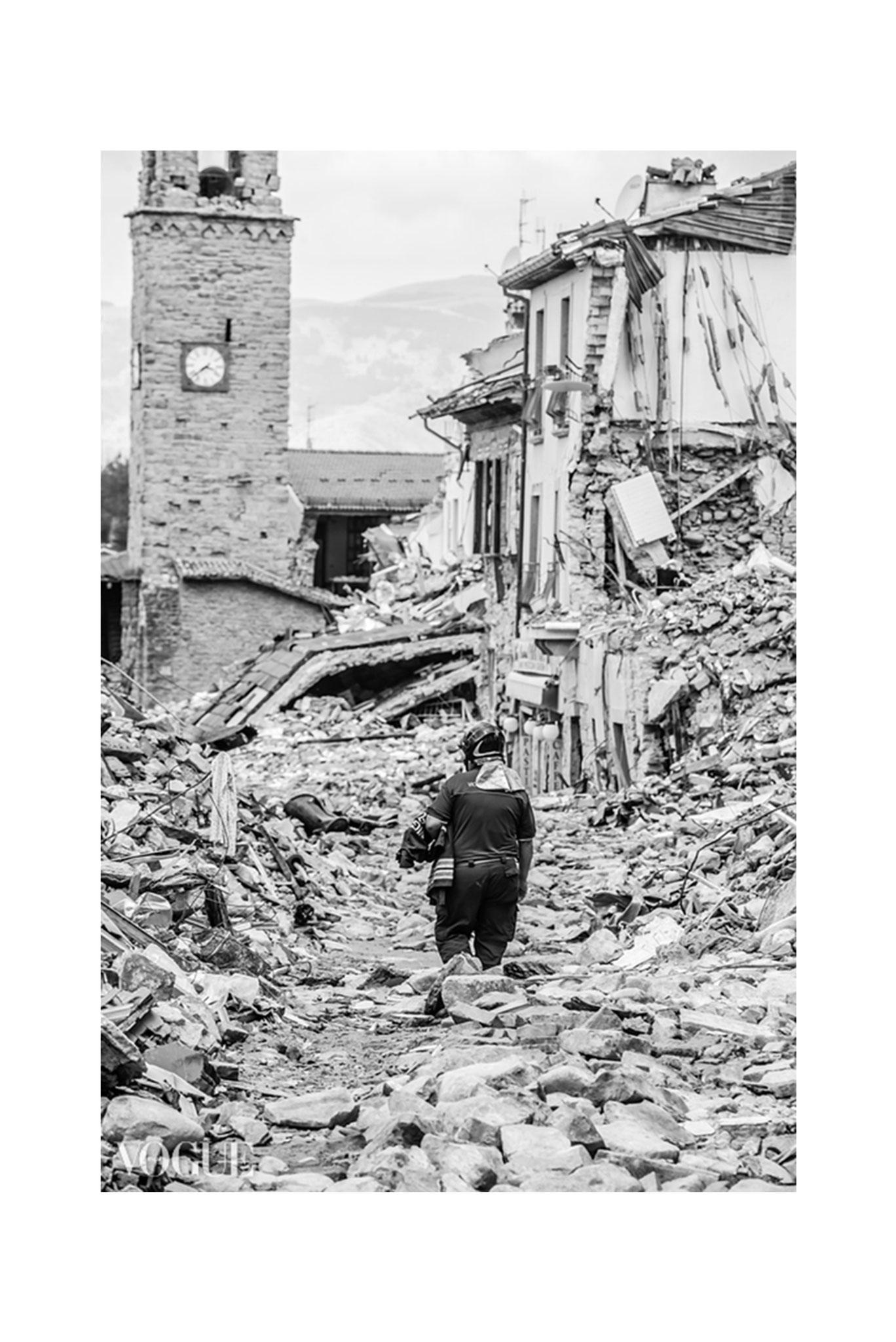 """WORDLESS"", Amatrice - Terremoto Centro Italia: Per Non Dimenticare ~ PhotoVogue Italia by VOGUE"