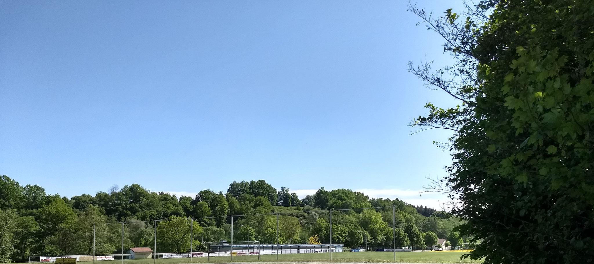 Gesamtanlage von Norden (Weihersee Stadion, Naturbad, Vereinsheim)
