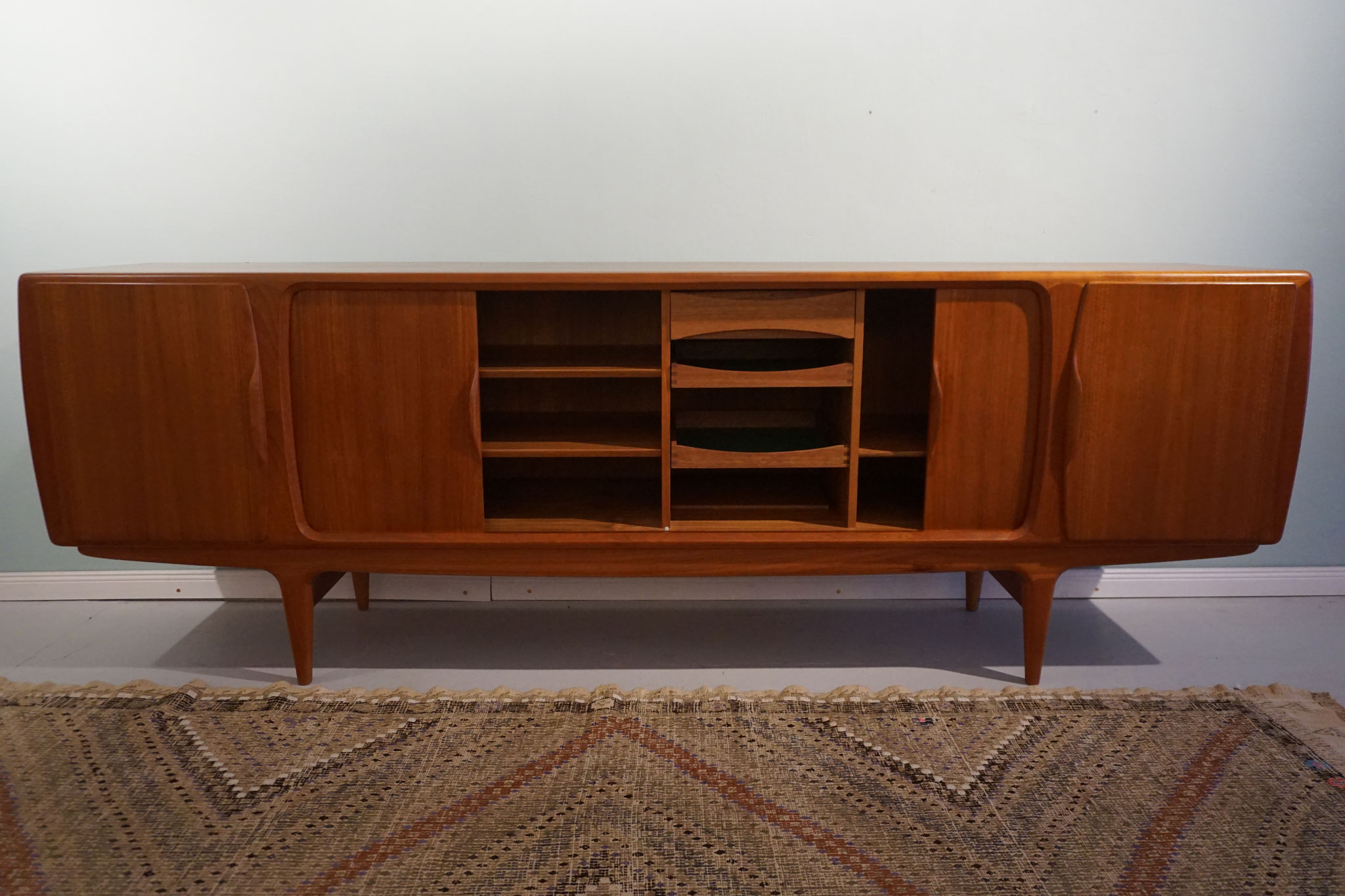 johannes andersen ankauf teak 60er 70er 50er the vintage store hamburg midcentury interior. Black Bedroom Furniture Sets. Home Design Ideas