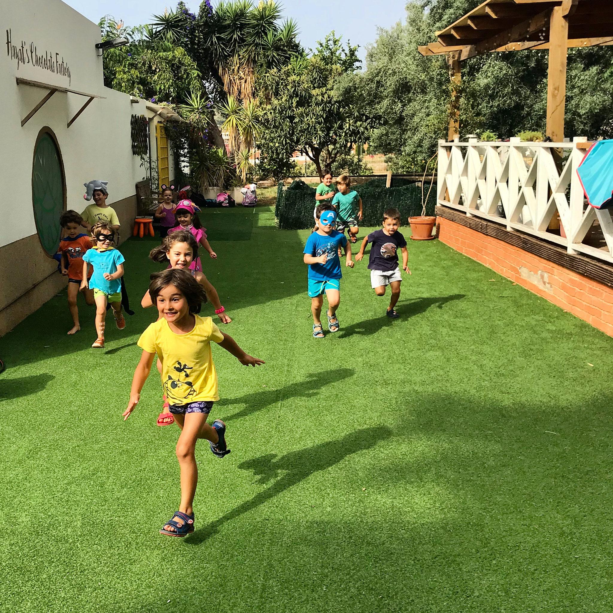 Naturaleza y Juego Libre-Zona Infantil 03-05 años