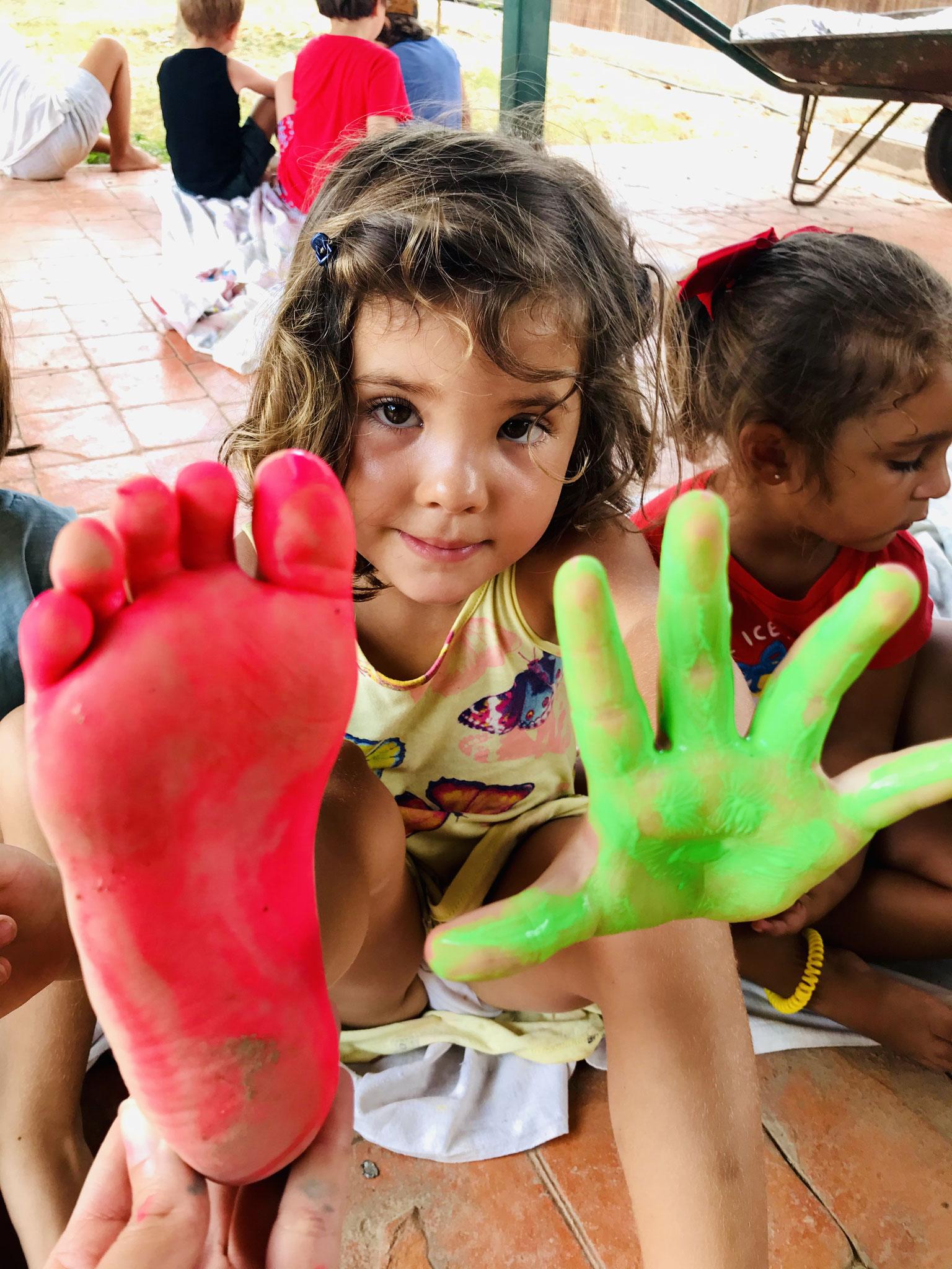 Pintura-Body Painting-Zona Infantil 03-05 años