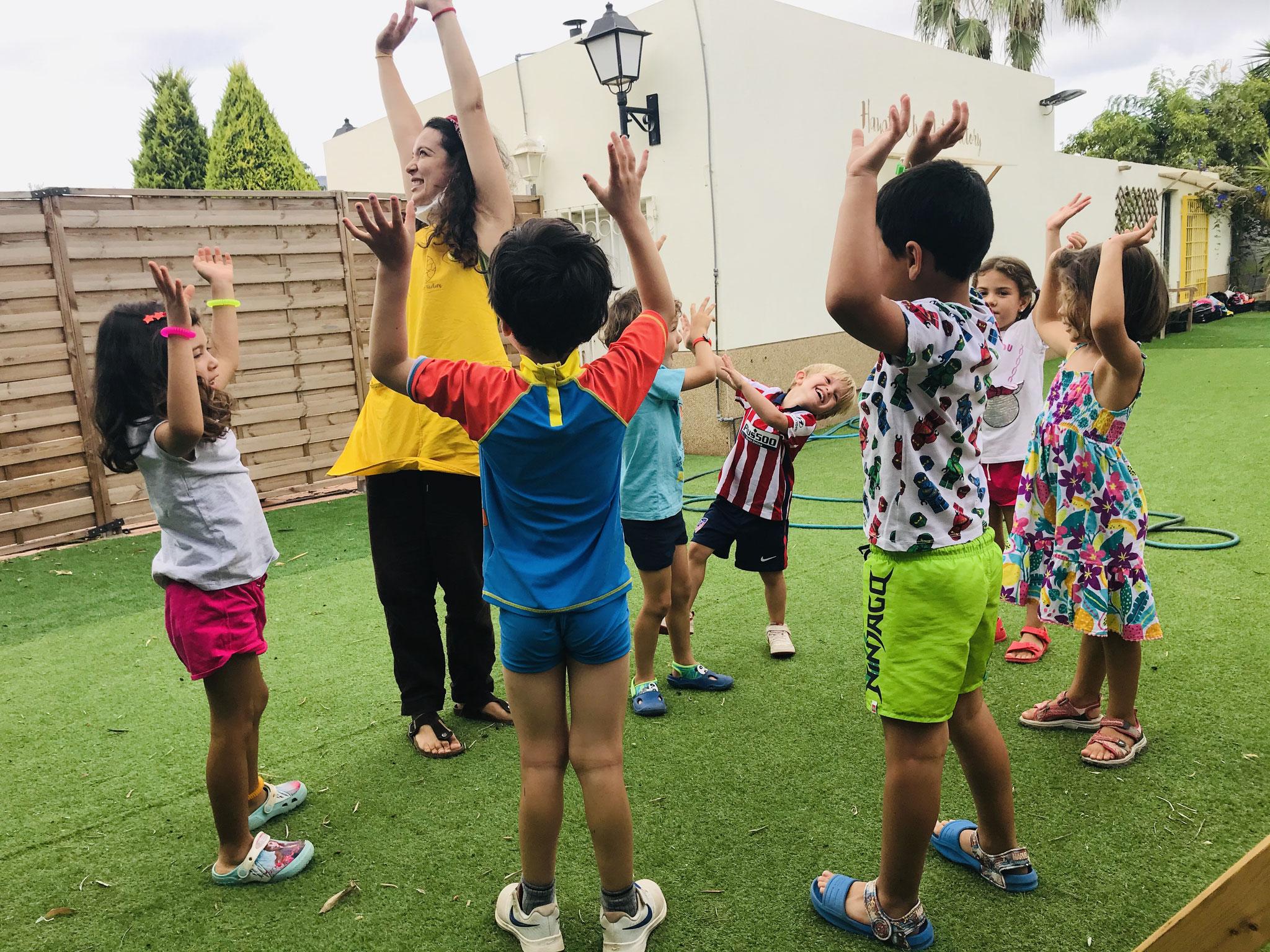 Yoga-Zona Infantil 03-05 años