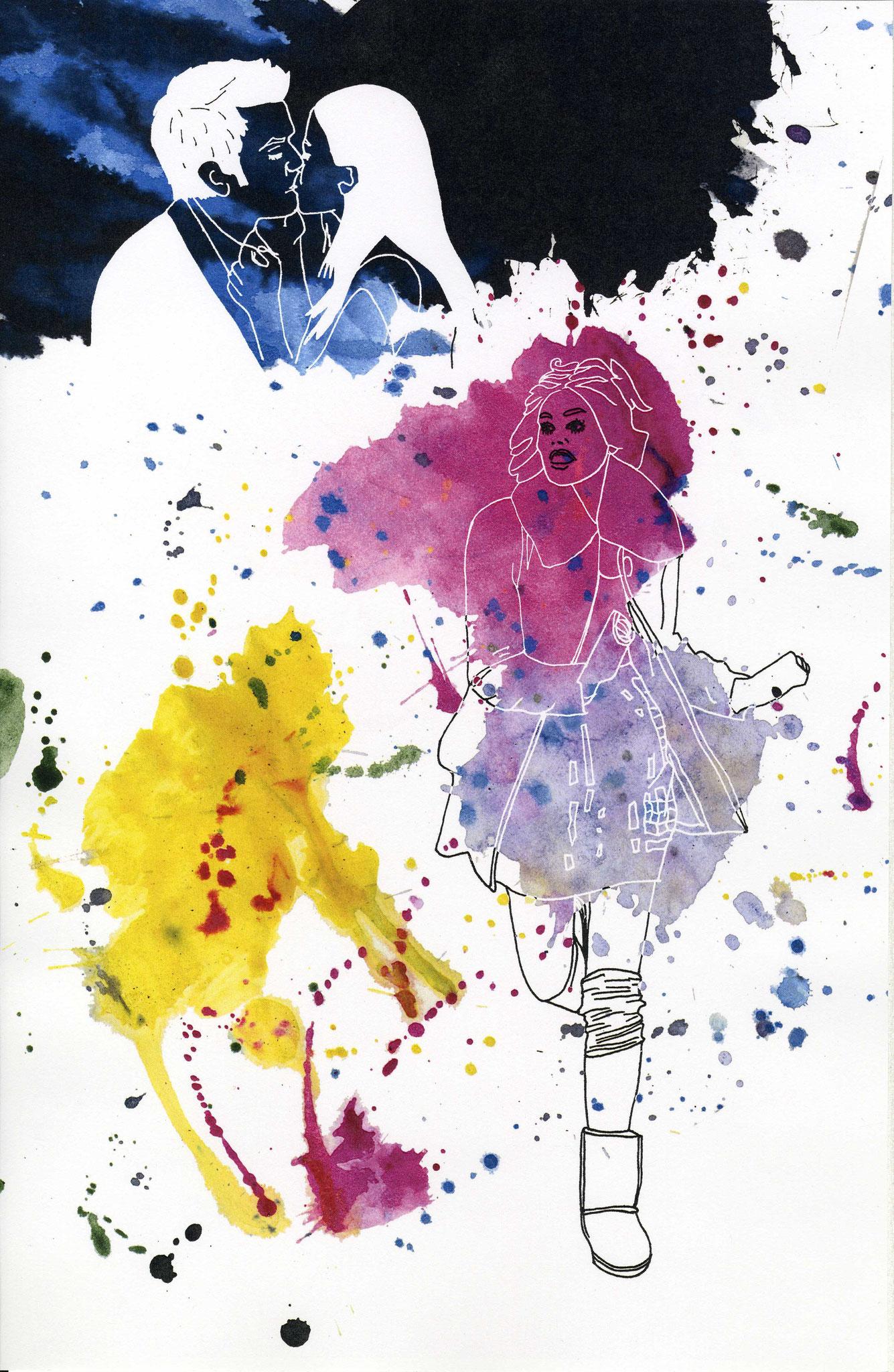 Illustration - verlorene Liebe