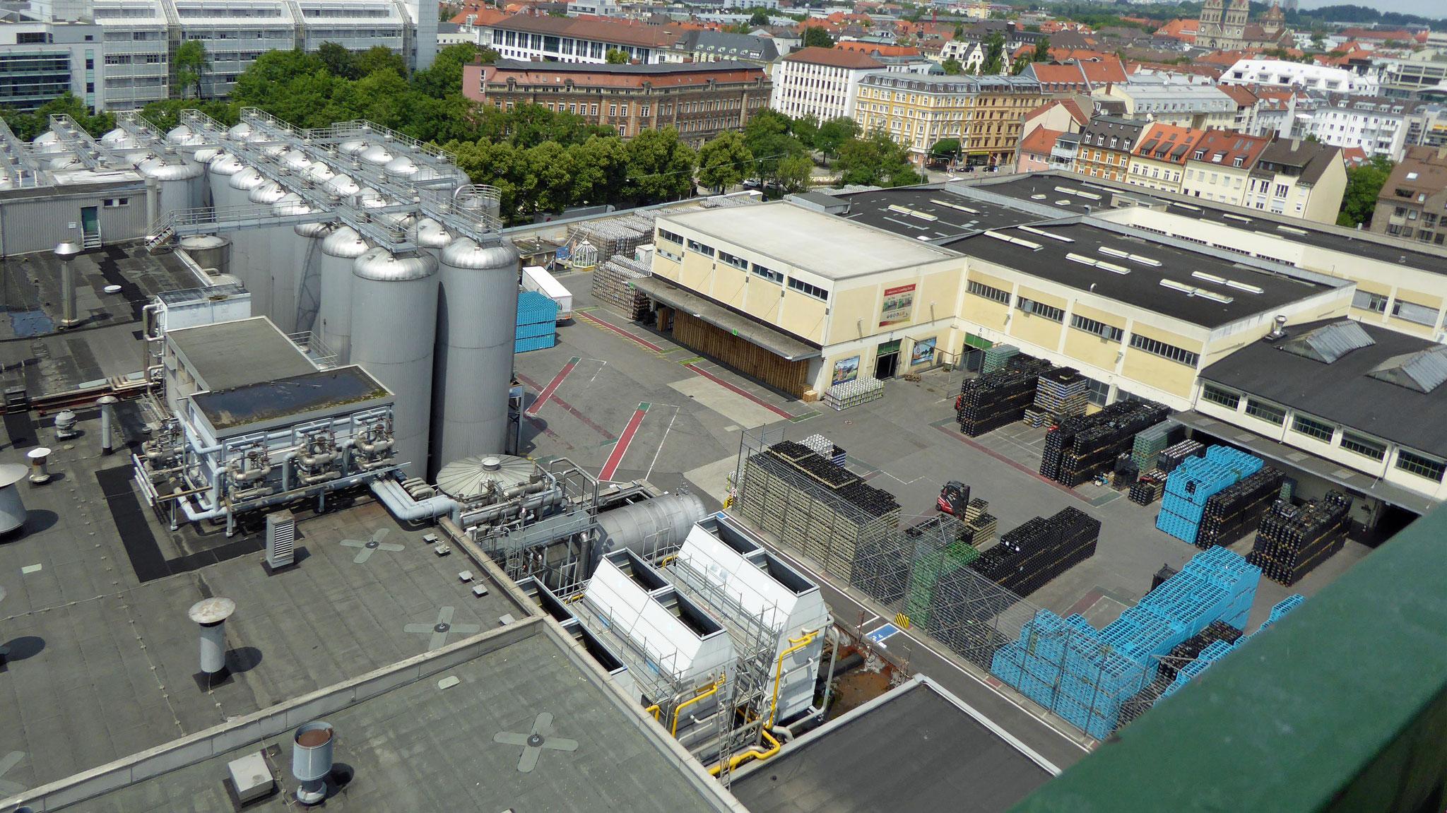 das Brauereigelände