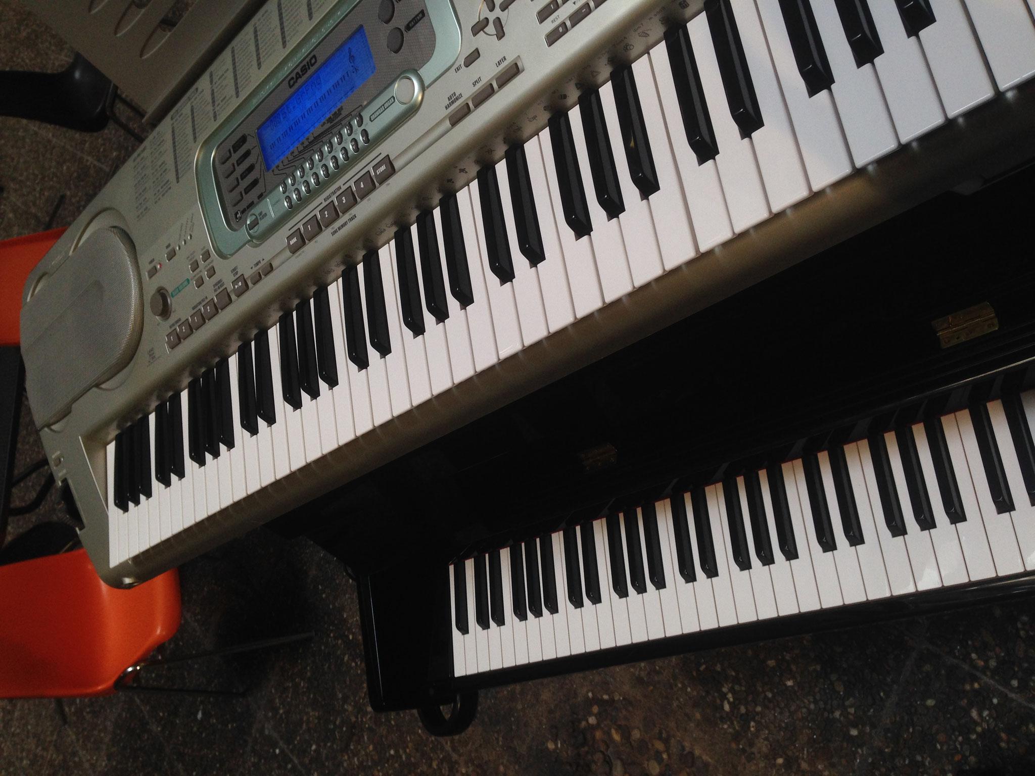 Das fahrbare Klavier. [Erspielt im Sep 2012; s. o.]