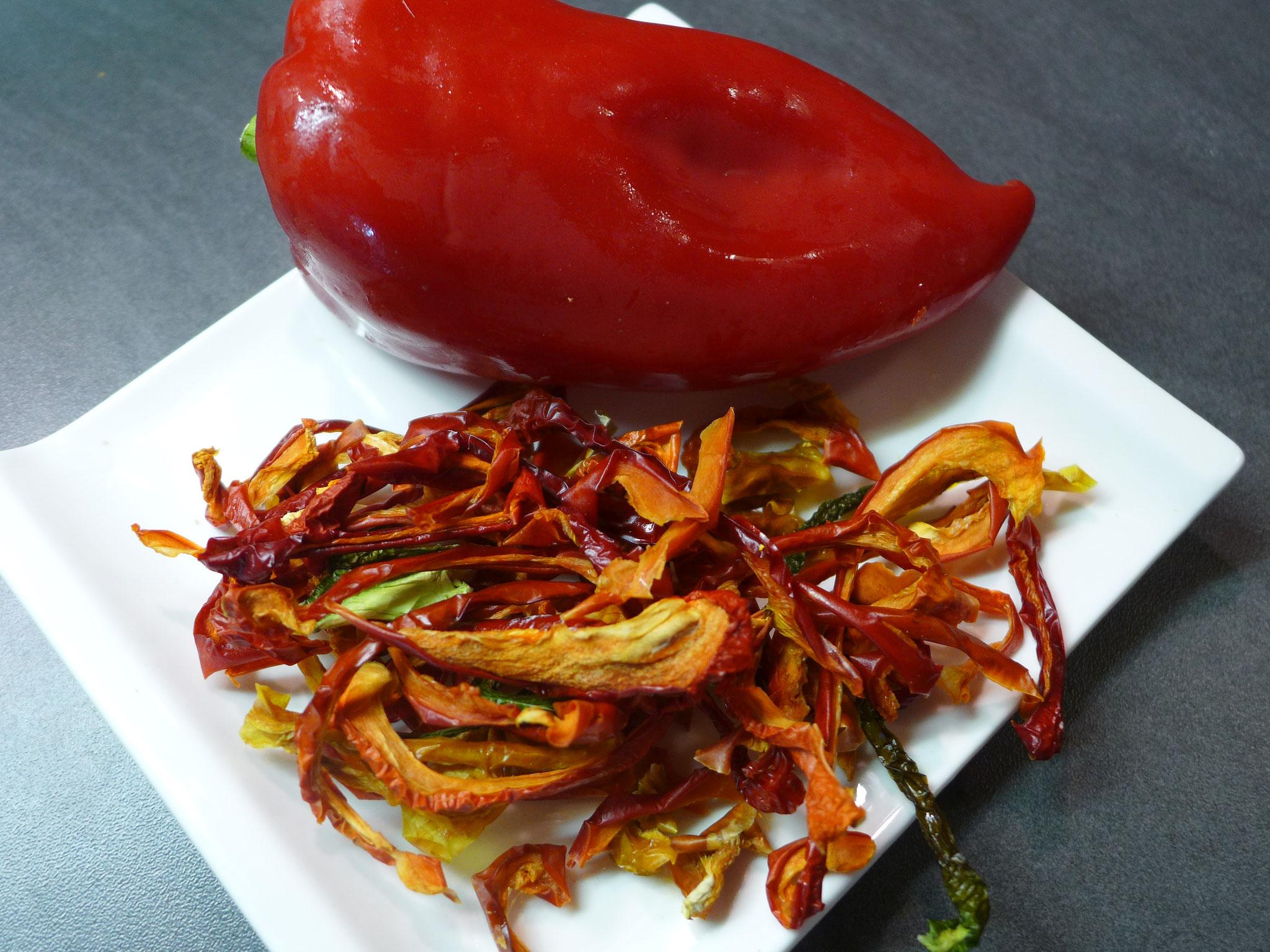 Paprika am besten grüne