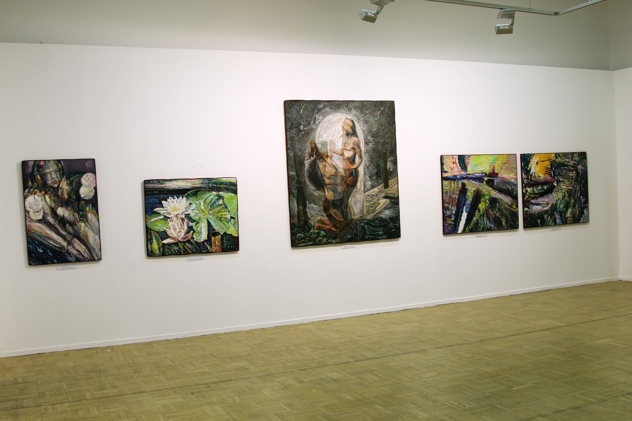 The exhibition 'Miramare'. The Central House of Artists, Moscow, 13.07-31.07.2011