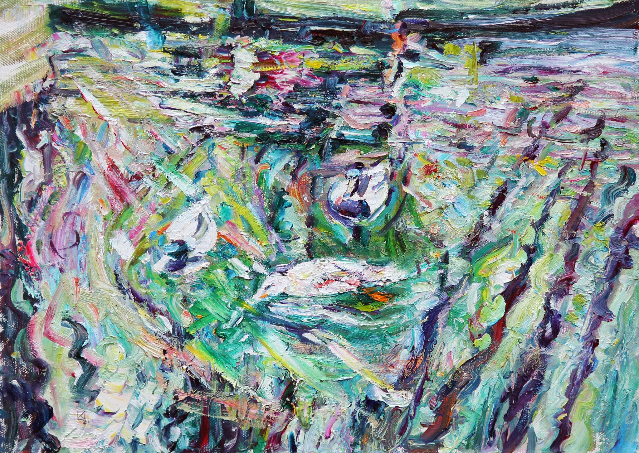 Three Graces. 2012. Oil on canvas. 50 х 70
