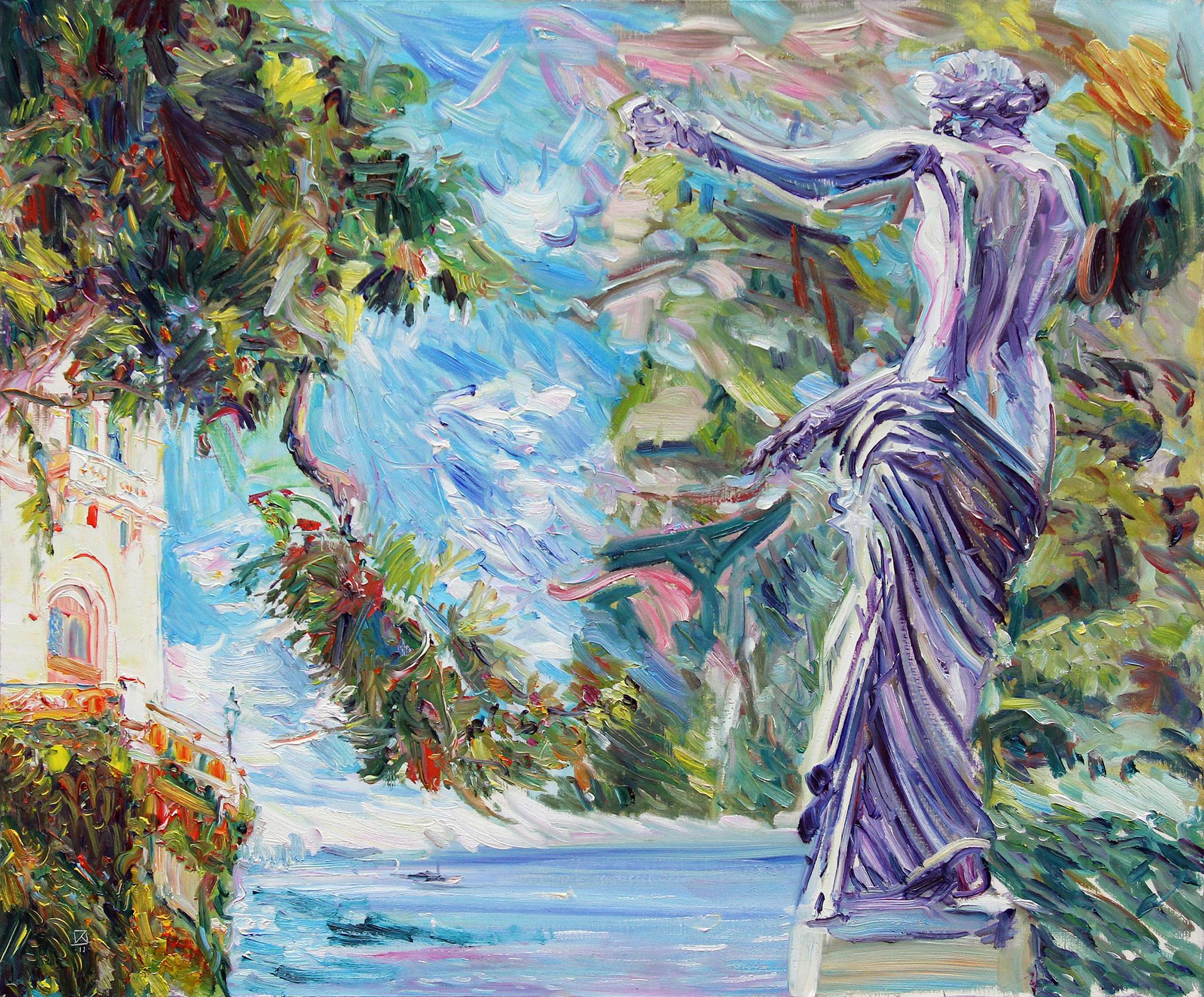 Inviting Freshness. 2011. Oil on canvas. 100 х 120