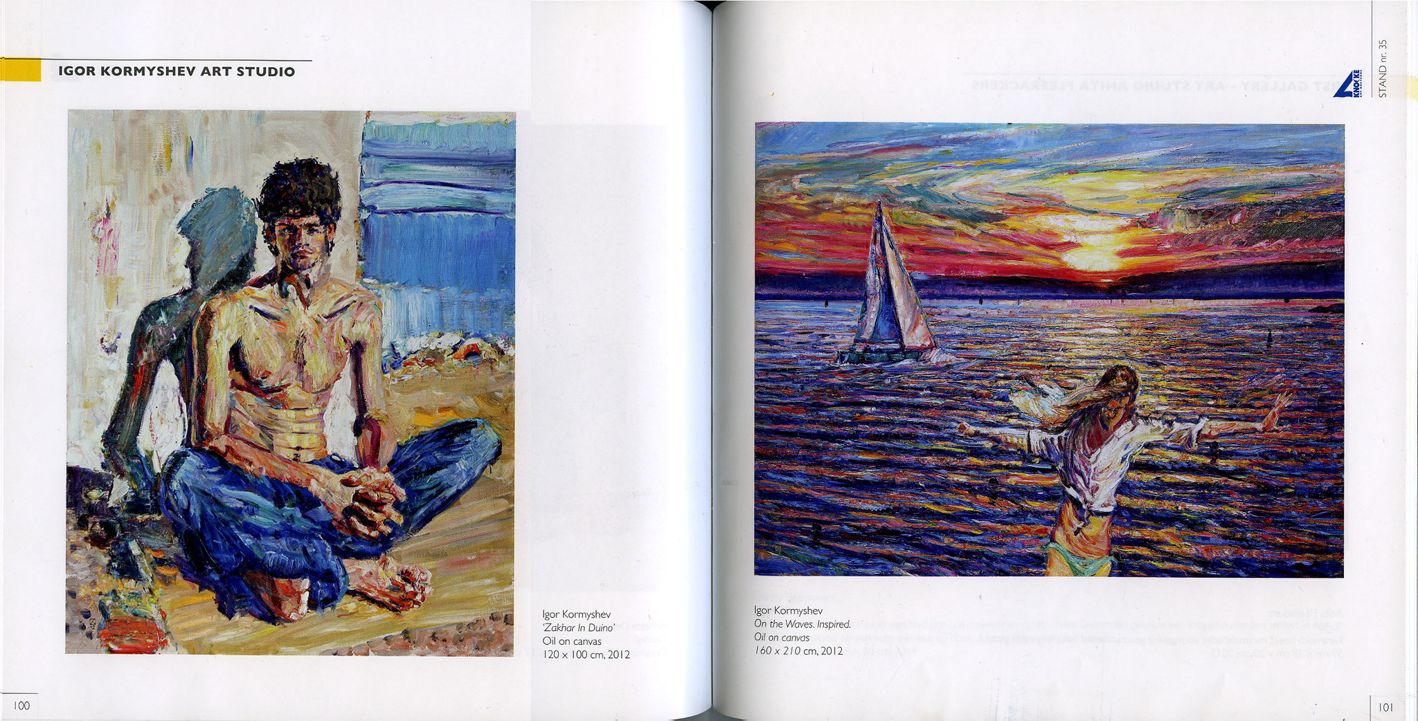 The catalog of The Art Nocturne Knocke, 09-17.08.2014