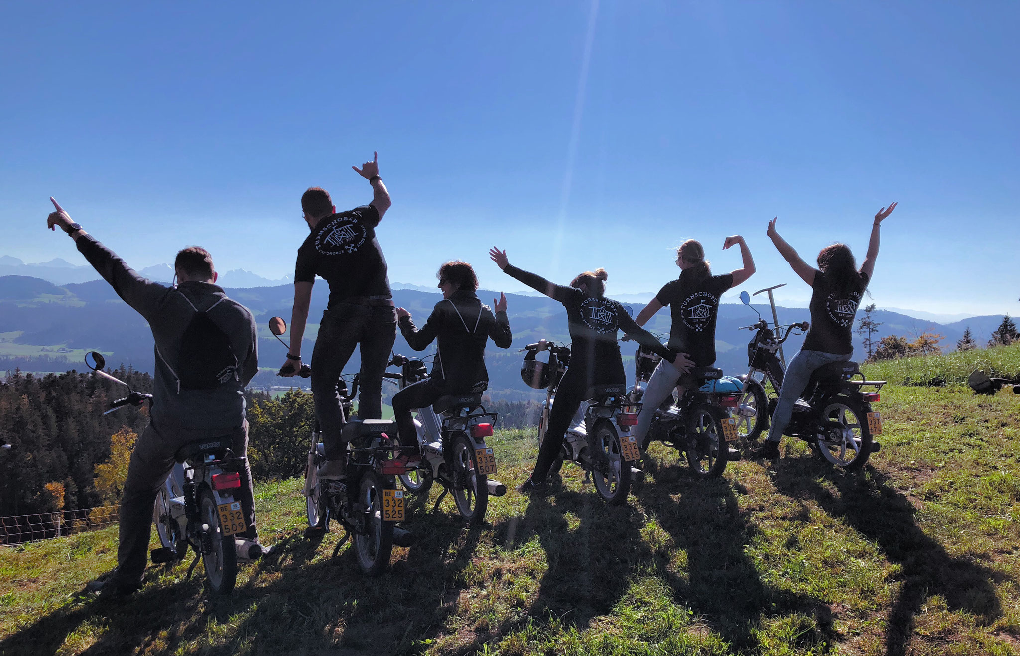 Turnschober Fitness Langenthal - Events - Töffli Ausflug Emmental