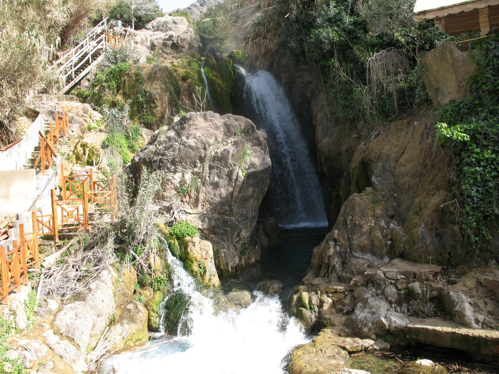 Algar Water falls