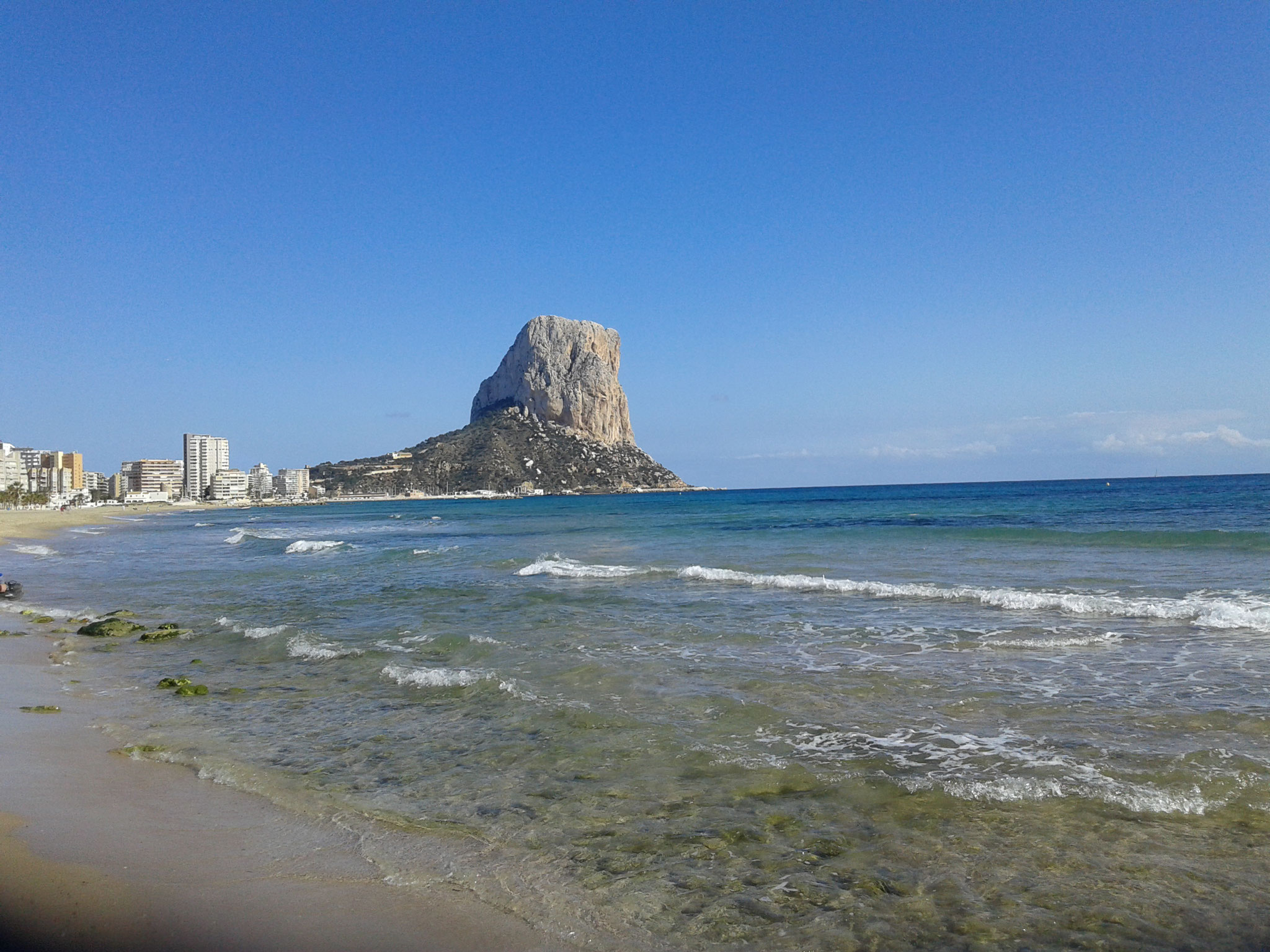 Beach of Calpe