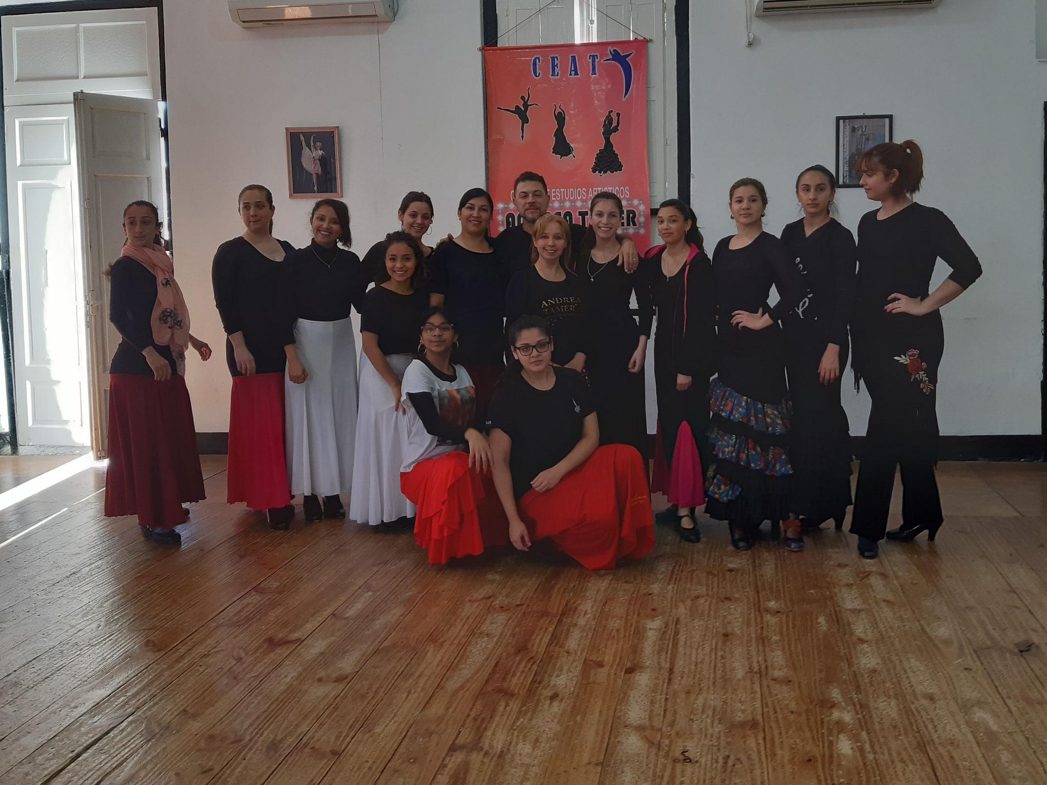 Curso de perfeccionamiento flamenco con prof. de Bs As