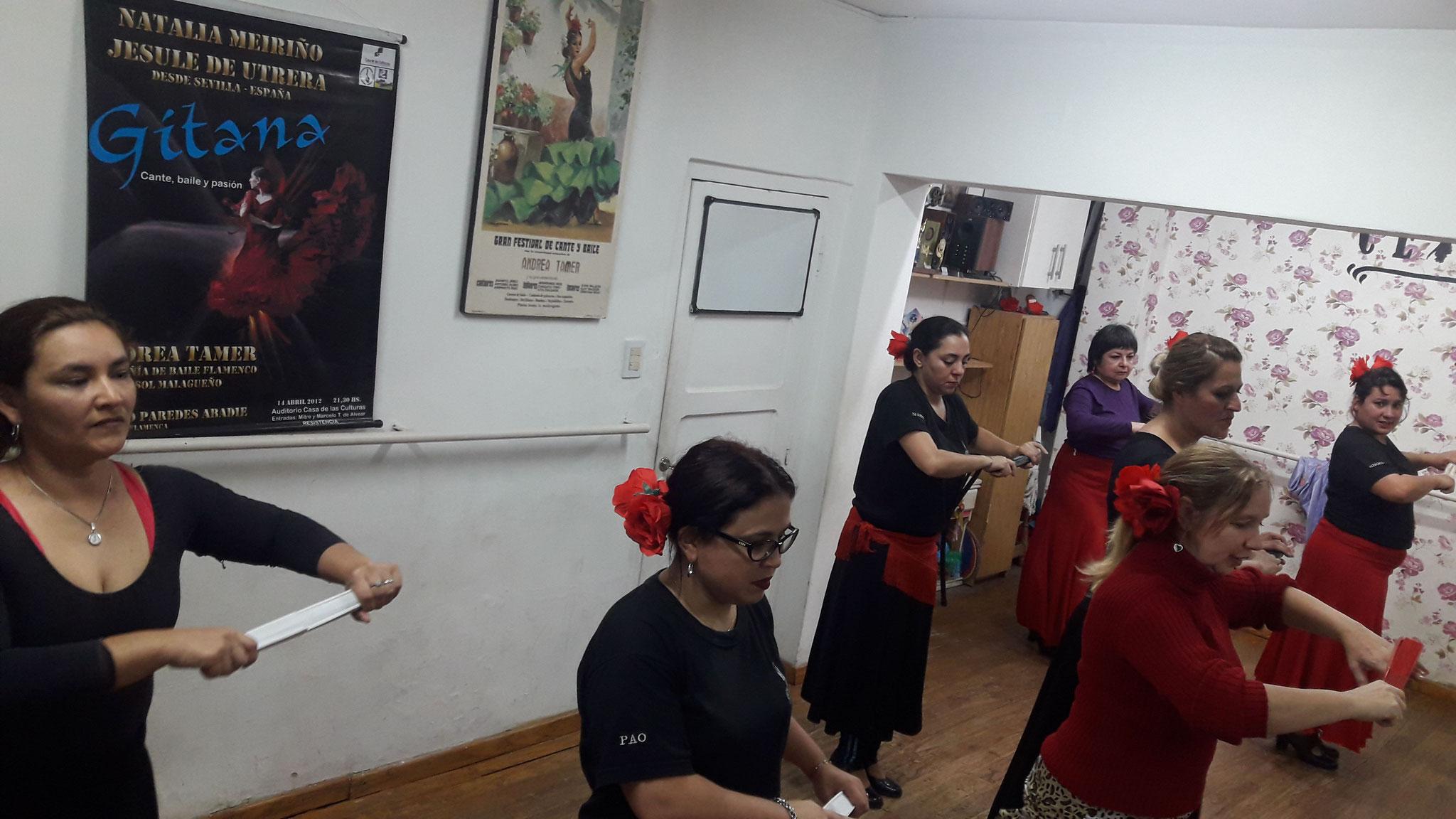 LAS SALEROSAS, taller flamenco aficionados