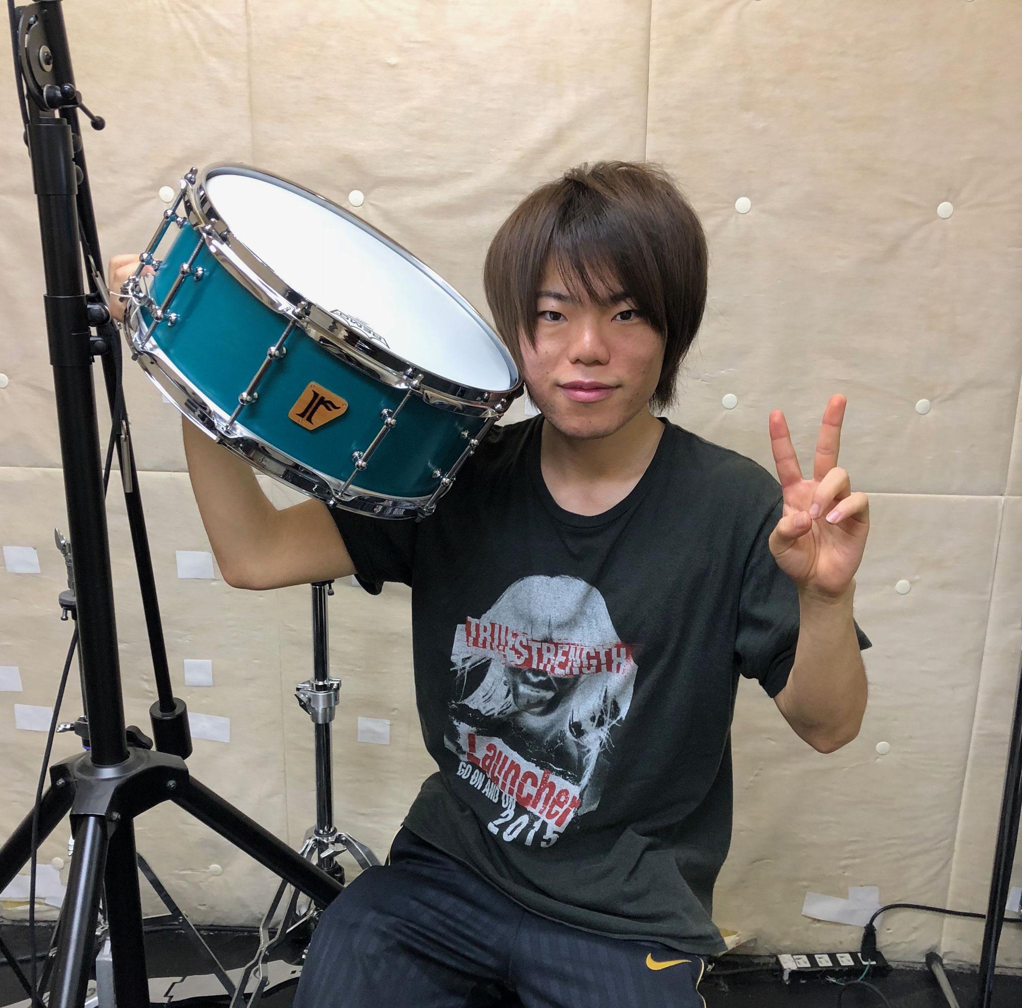 """藤崎誠人 #11. Maple 10ply / 14""""x5.75"""" SD"""