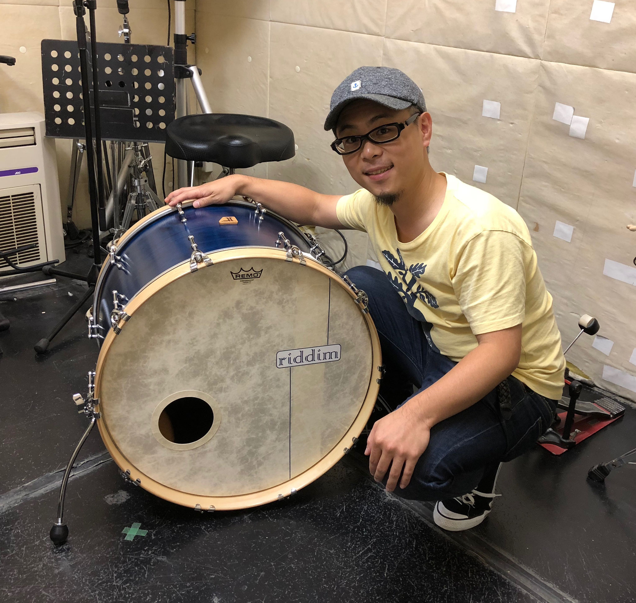 "菅田直人  Custom. Maple 8ply / 22""x15"" BD"