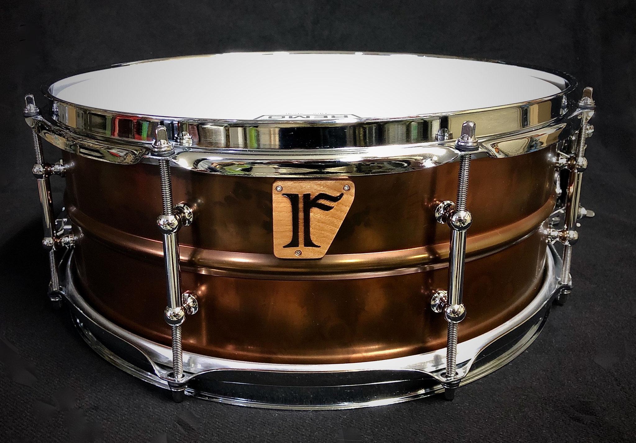 """#17. Bronze Plated Brass / 14""""x5.5"""""""