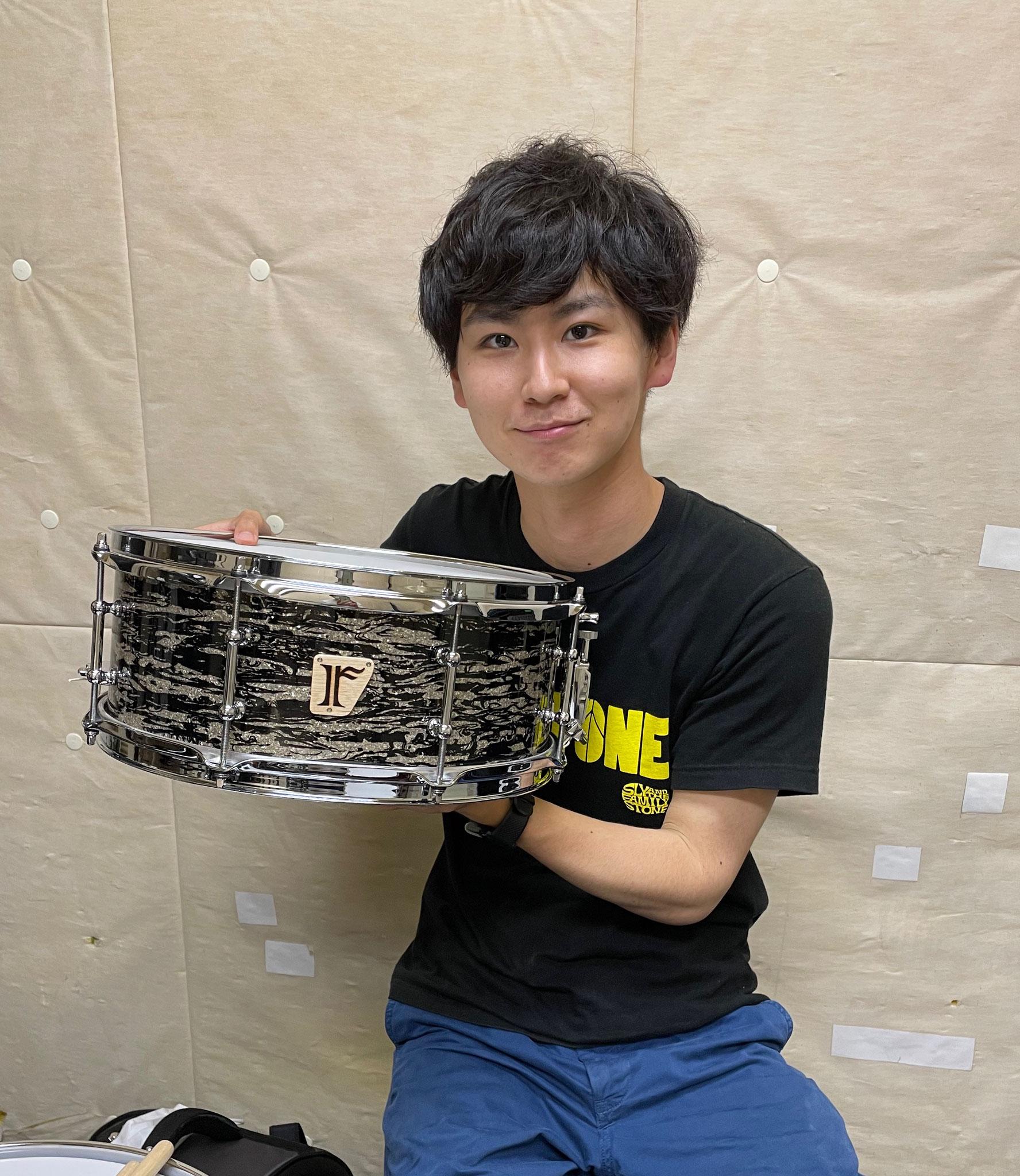 """田中匠郎 Custom. Maple 10ply / 14""""x5.75"""" SD"""