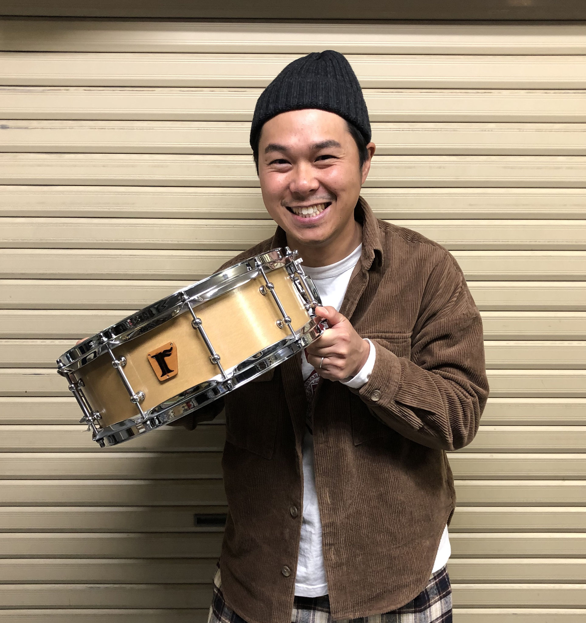 "海老原諒 Custom. Maple 10+6ply / 13""x6.25"" SD , #01. Maple 15ply / 14""x5"" SD"