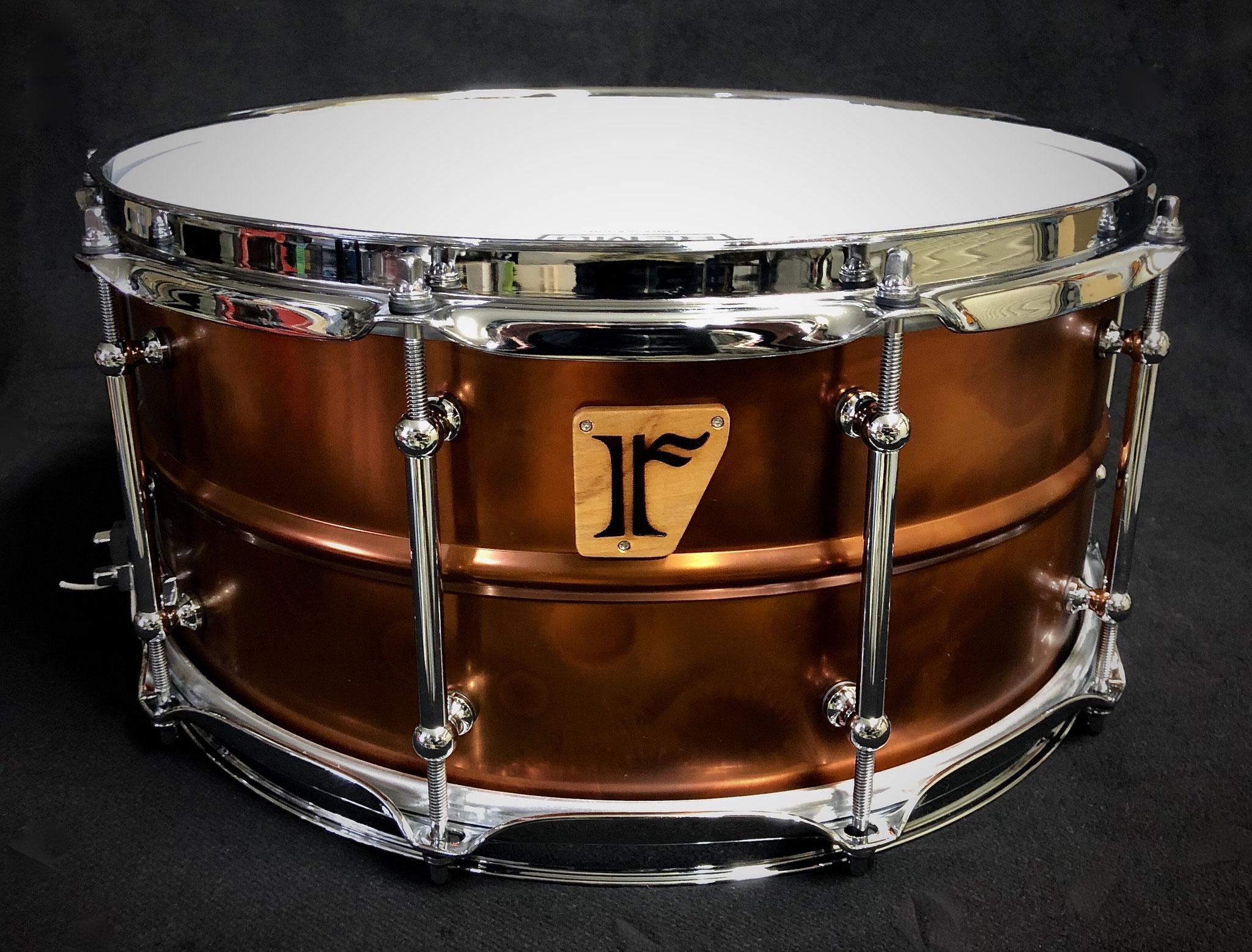 """#18. Bronze Plated Brass / 14""""x6.5"""""""