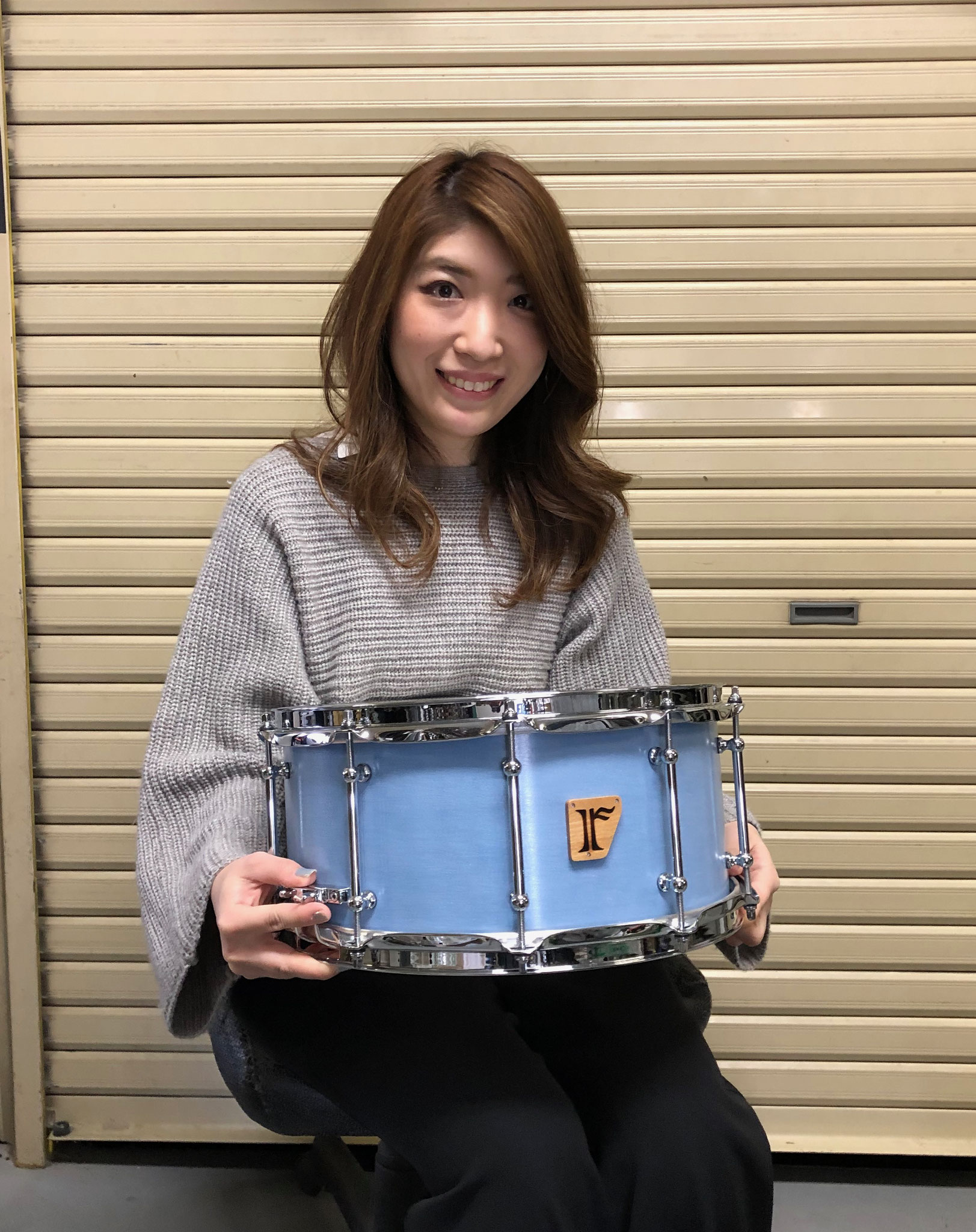 "小久保里沙 Custom. Maple 10ply / 14""x6.5"" SD"