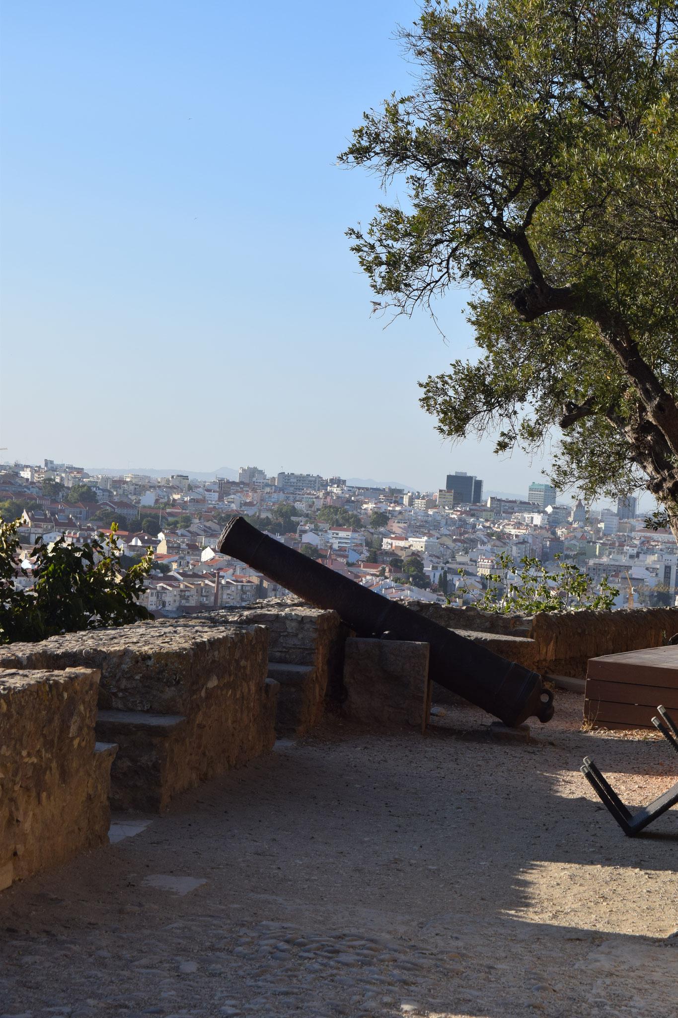 Meine Reiseempfehlungen für Lissabon in Portugal, wie das Castelo de Sao Jorge.