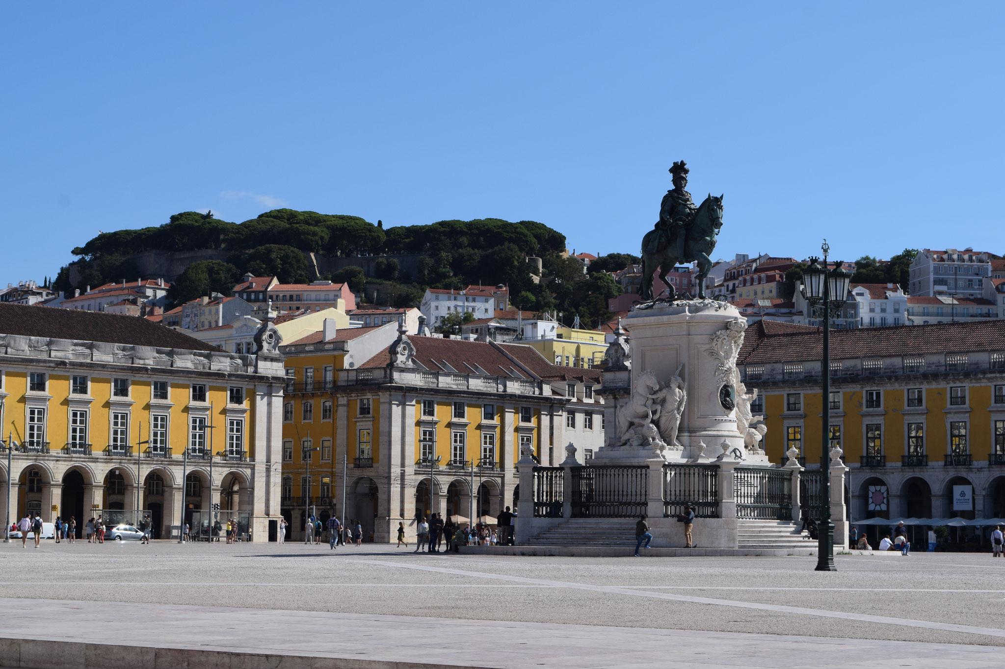 Meine Reiseempfehlungen für Lissabon in Portugal, wie der Arco da rua Augusta.