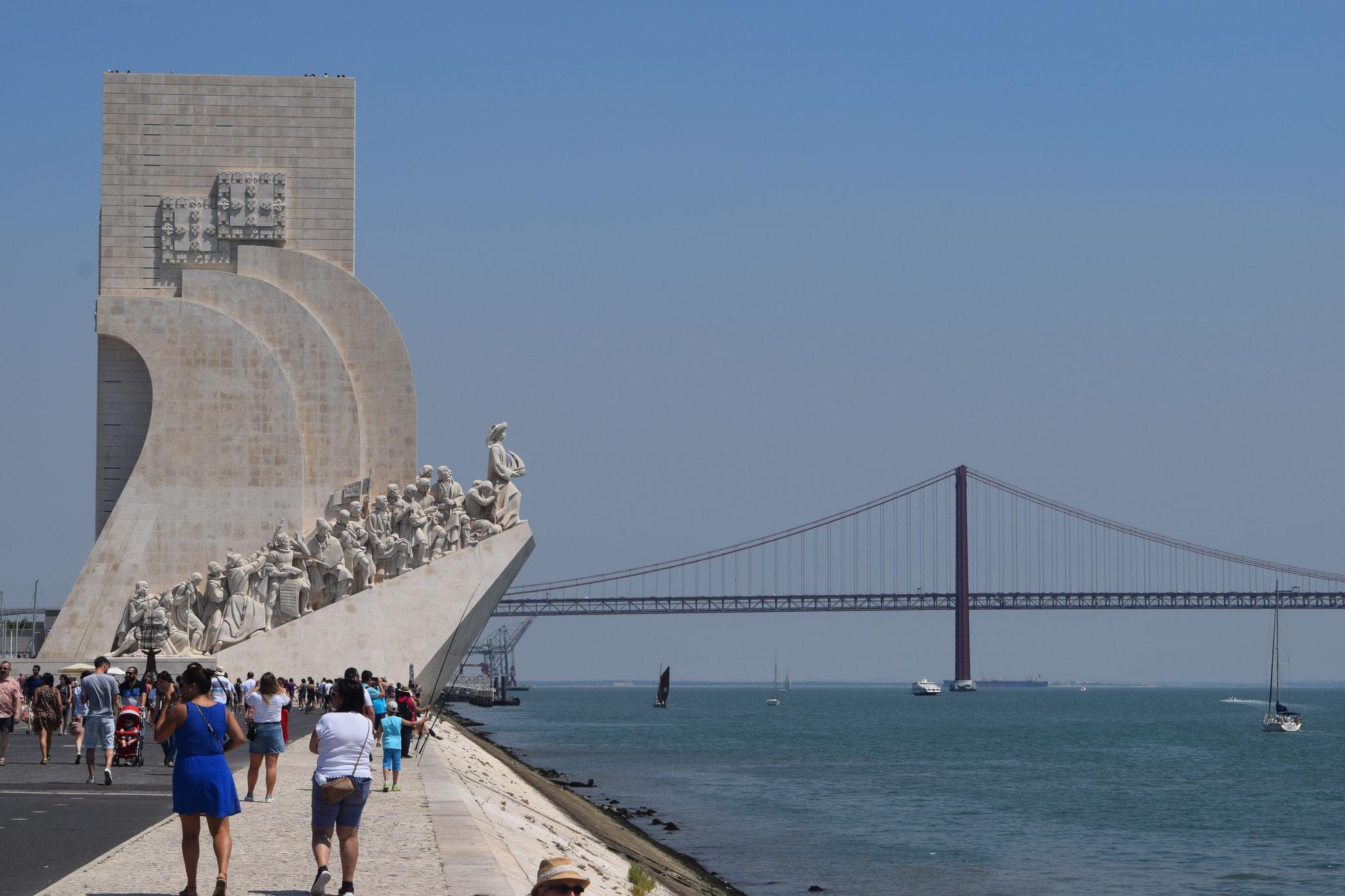Meine Reiseempfehlungen für Lissabon in Portugal, wie das Padrao dos Decobrimentos.