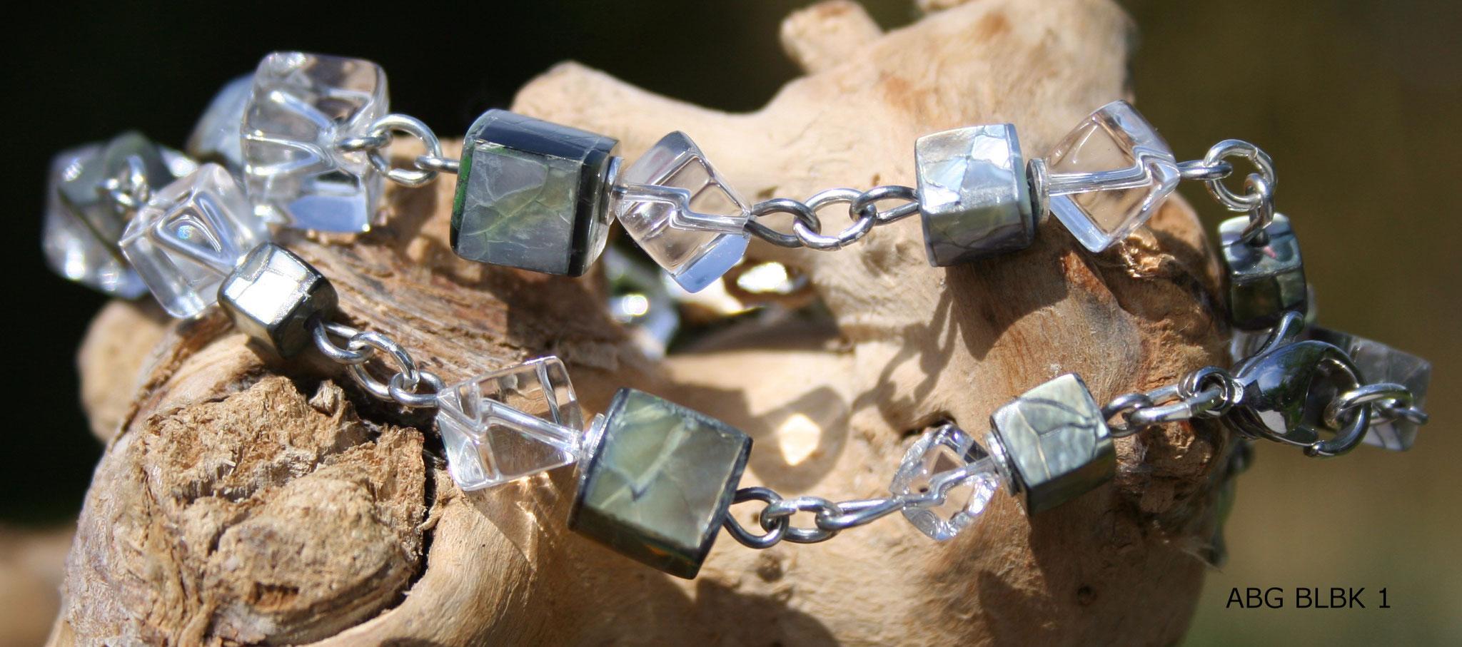 Bergkristallarmband