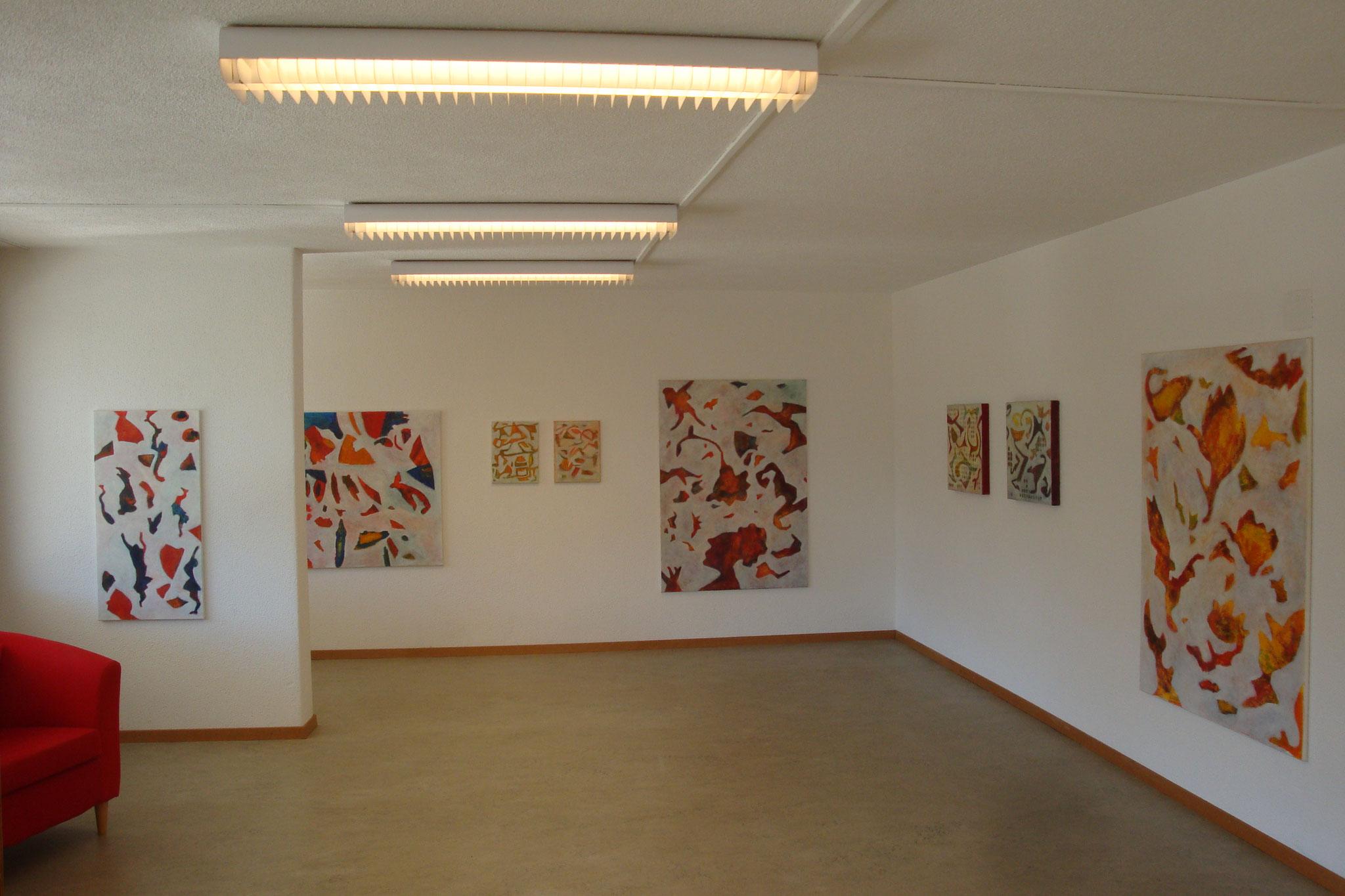 Ausstellung im Atelier, 2014
