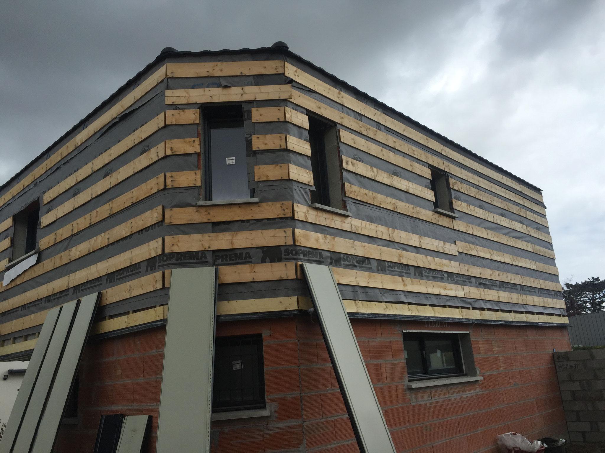 Exemple De Bardage Exterieur bardage de facade isolation thermique par l'exterieur