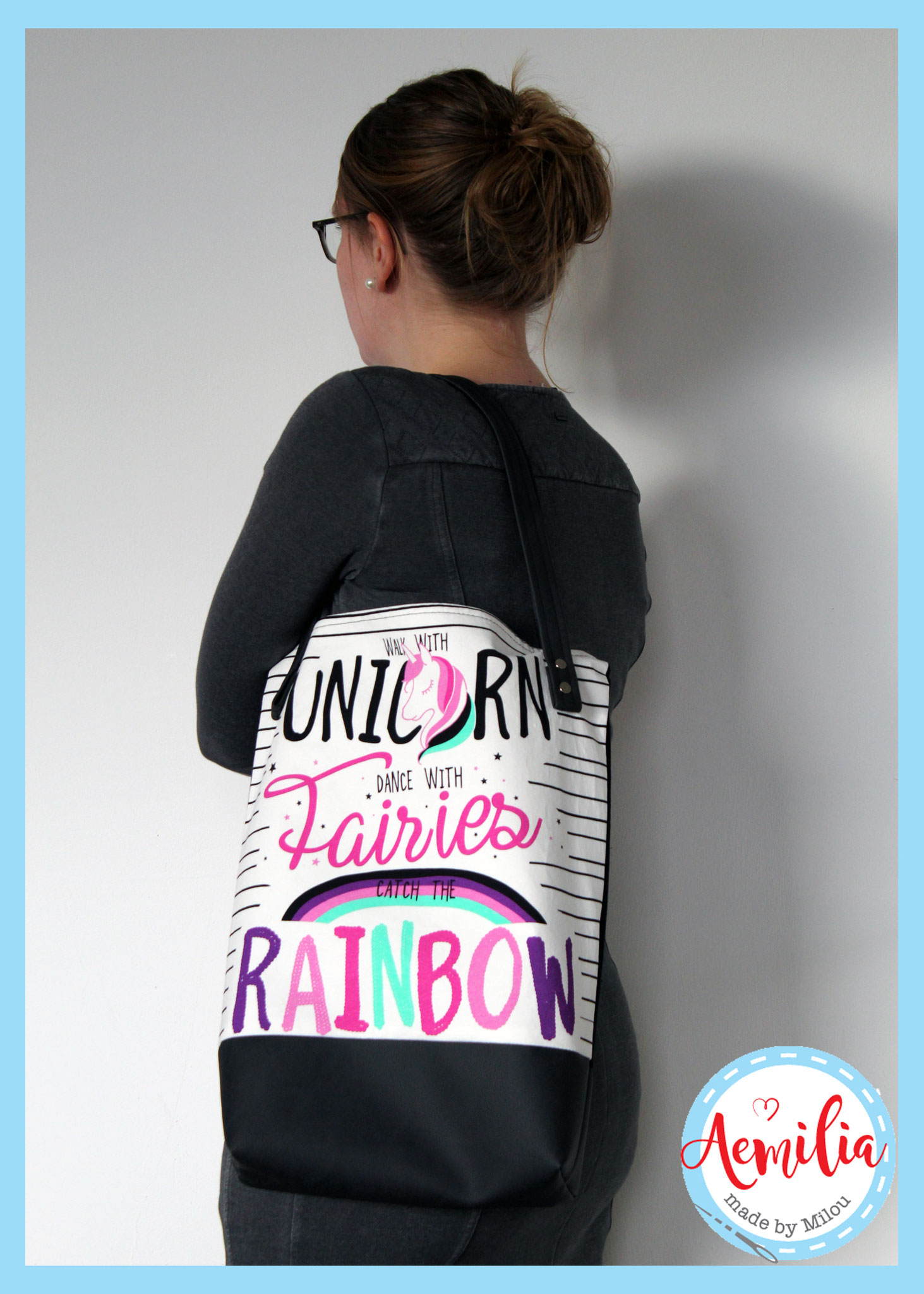 Unicorn tote - Uniek exemplaar