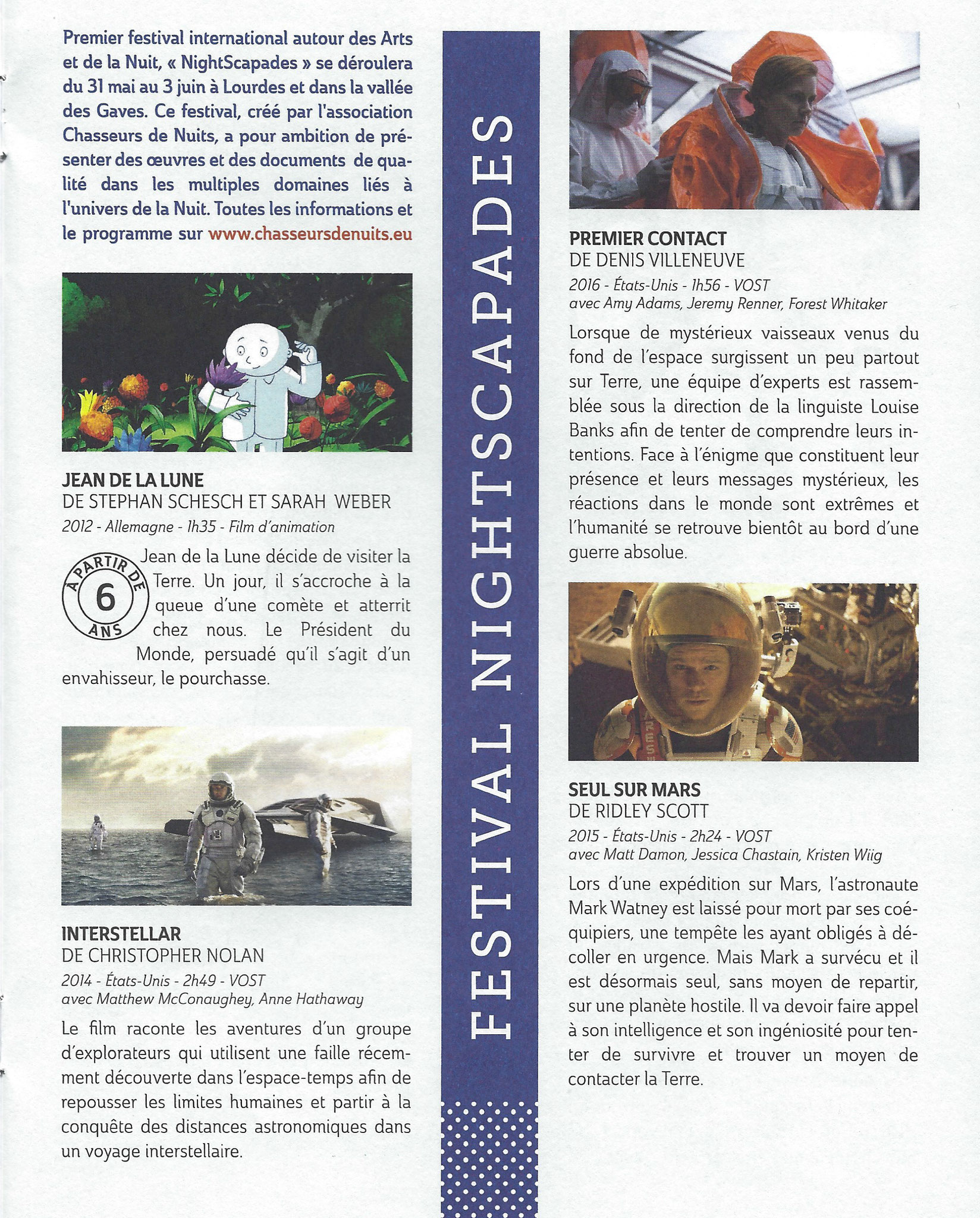 Journal du Parvis (Cinéma)- Tarbes