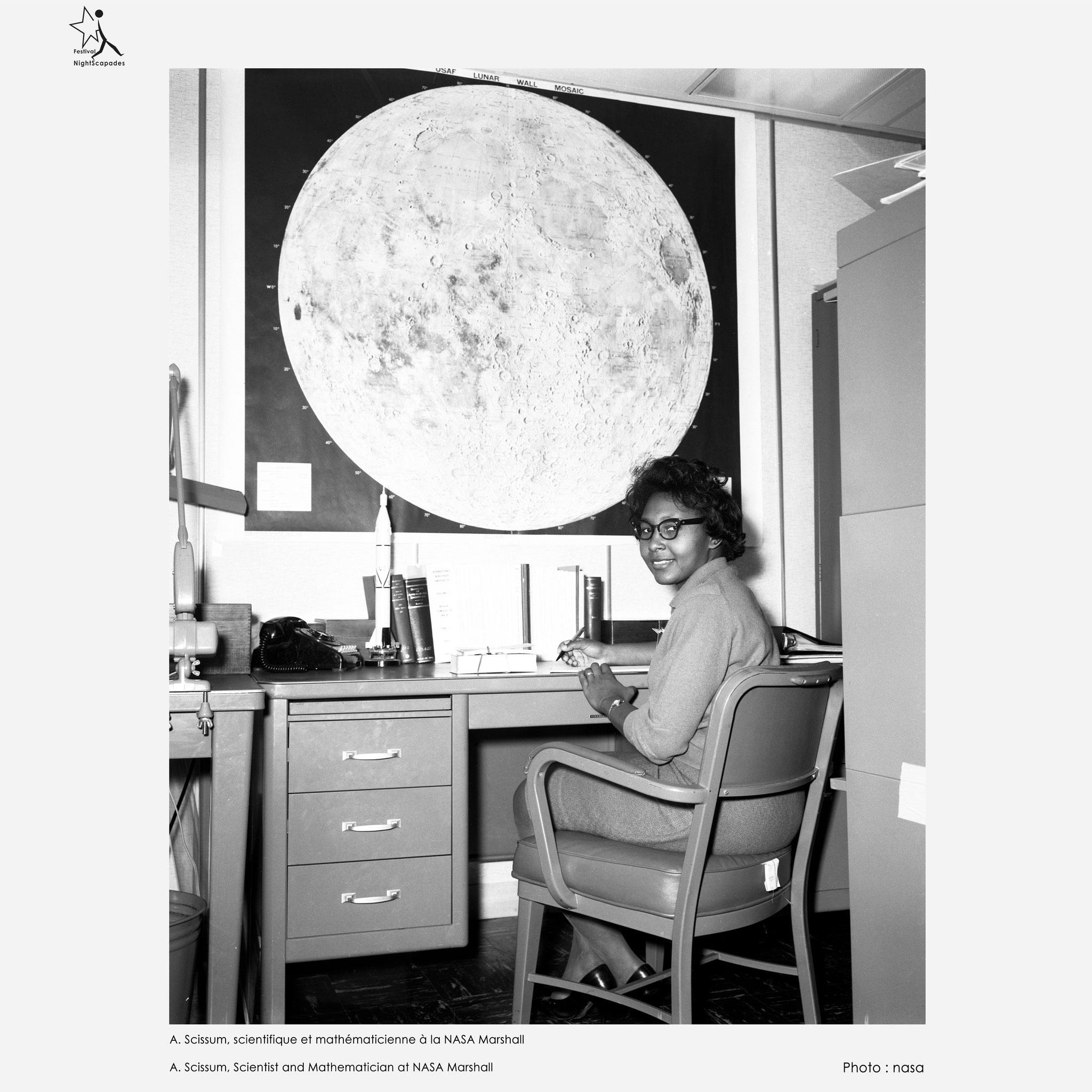 A. Scissum, scientifique et mathématicienne à la NASA Marshall