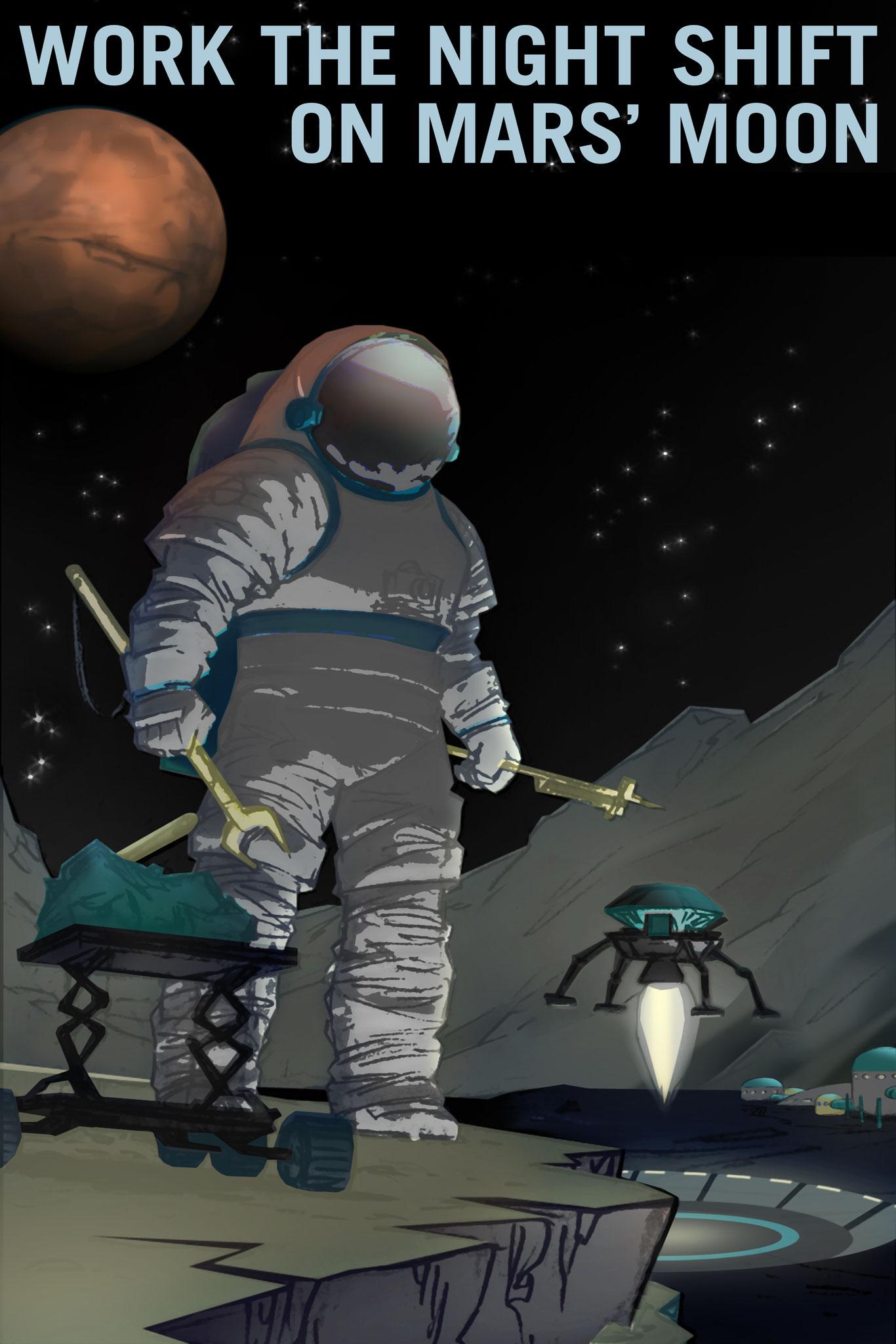 Mars - Night Sift