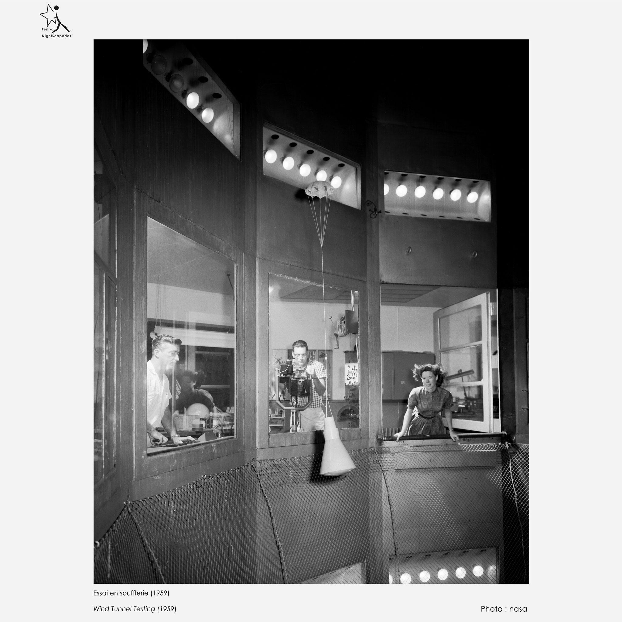 Essai en soufflerie (1959)