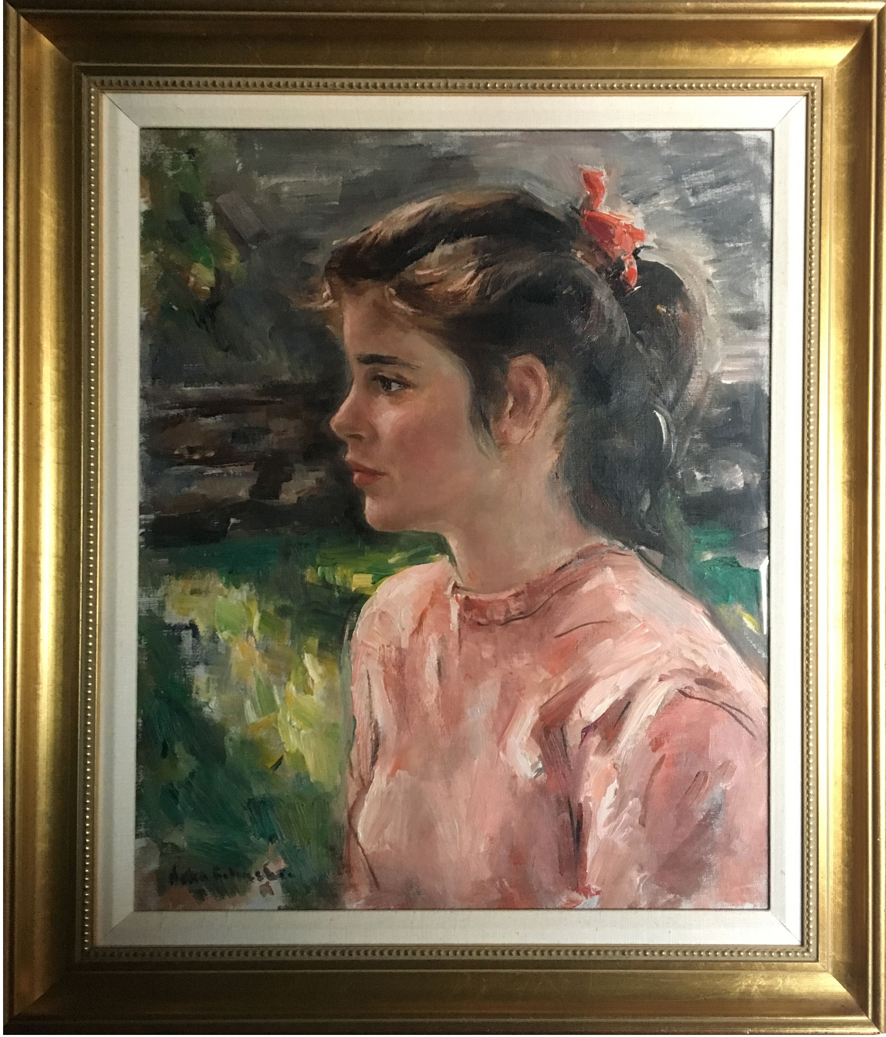 Portrait of young Judith. Courtesy Ruth Alexander.